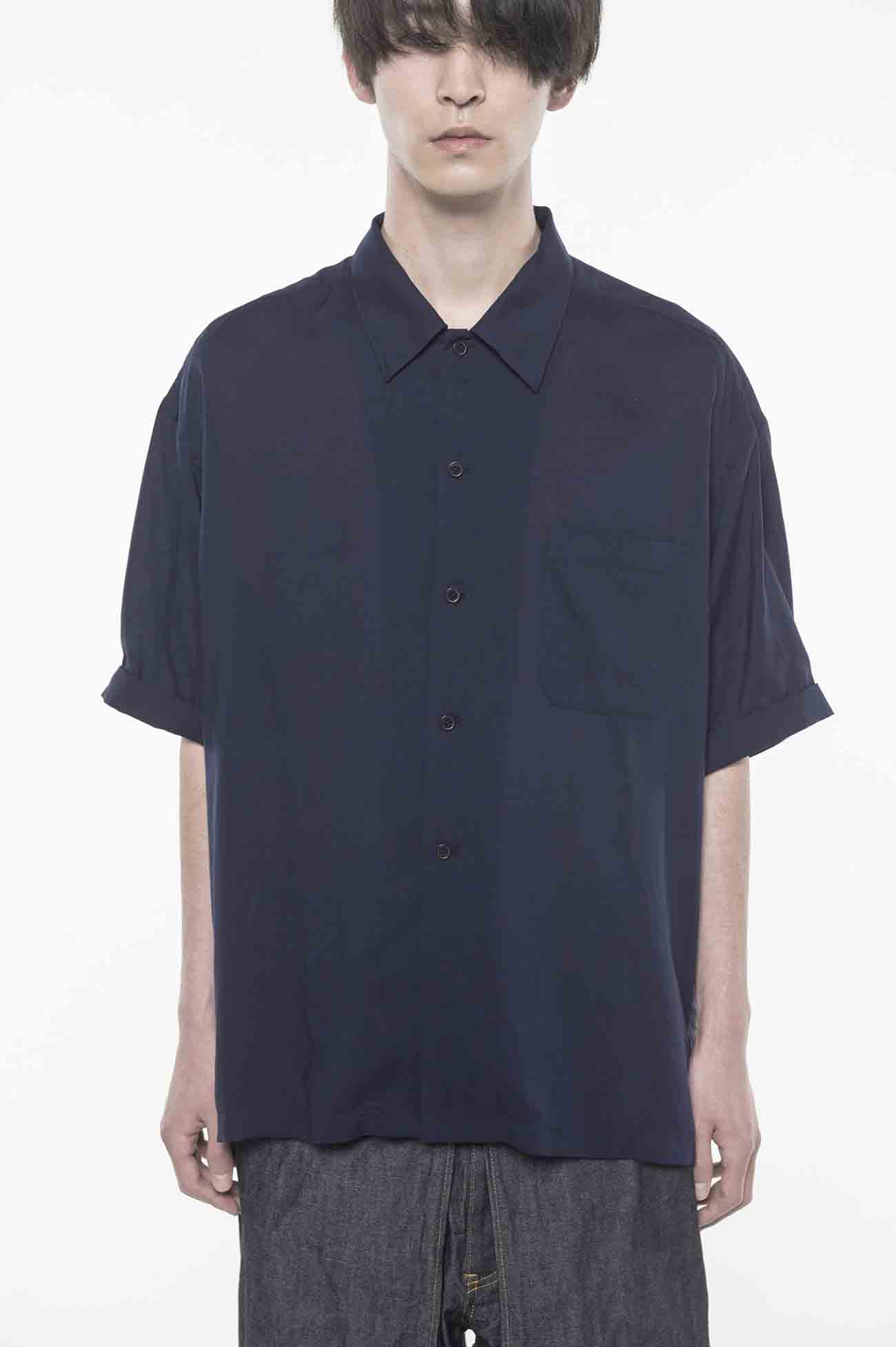 Tencel /Loan Big Short Sleeve Shirt