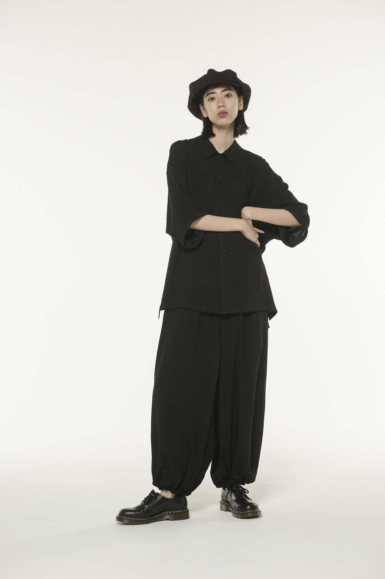 Tencel /Loan Big Short Sleeve Shirt