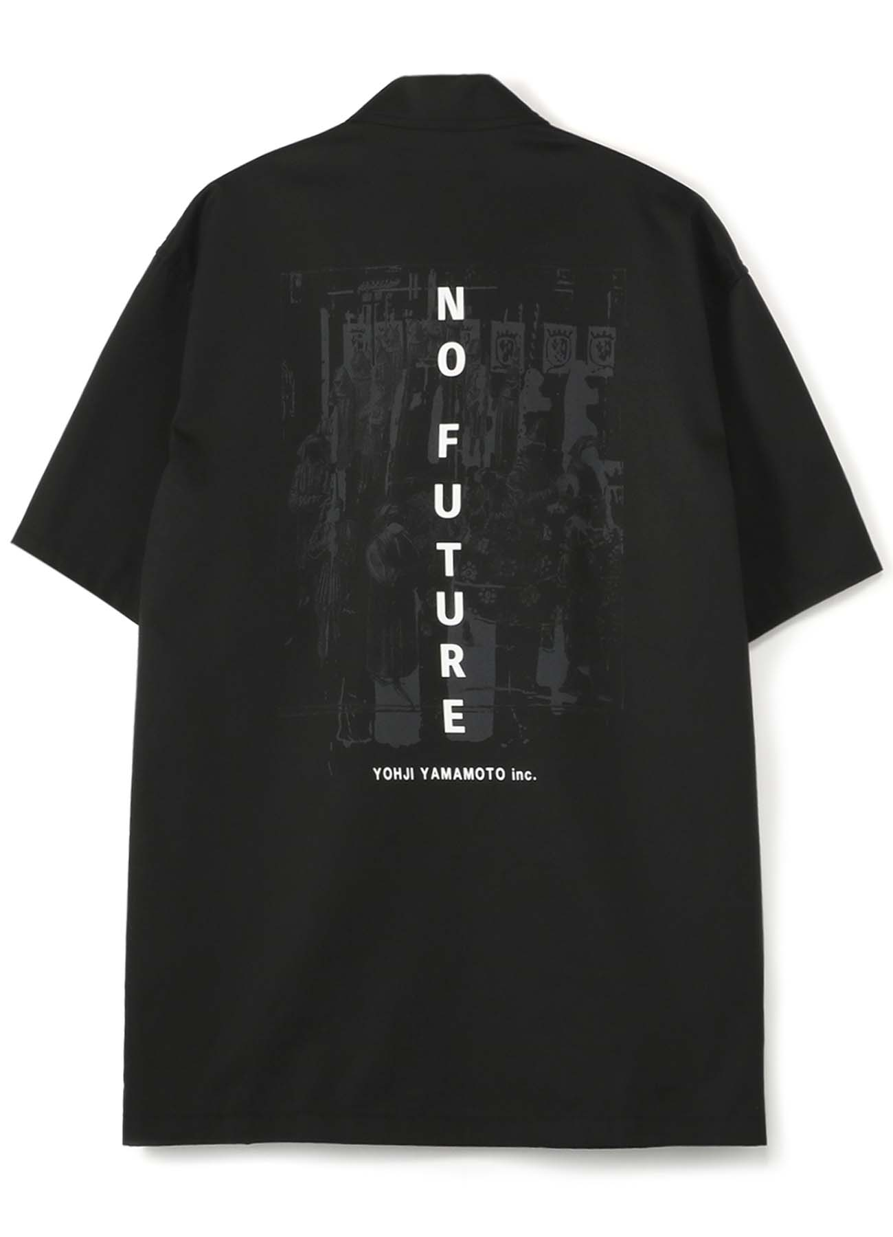 30s Combed Burberry [NO FUTURE] Zipper Shirt