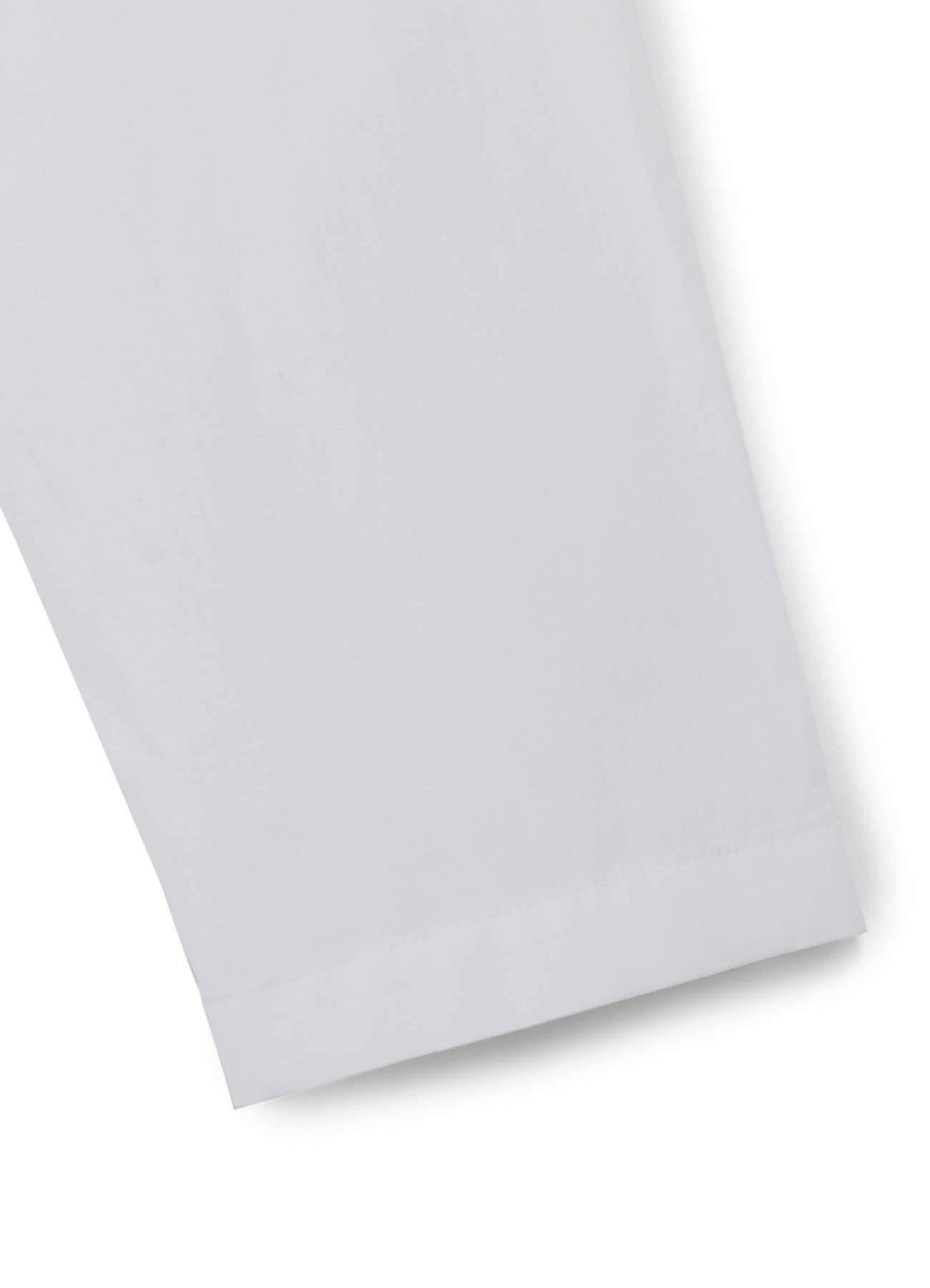 100/2 Broad Stand Collar Long Shirt