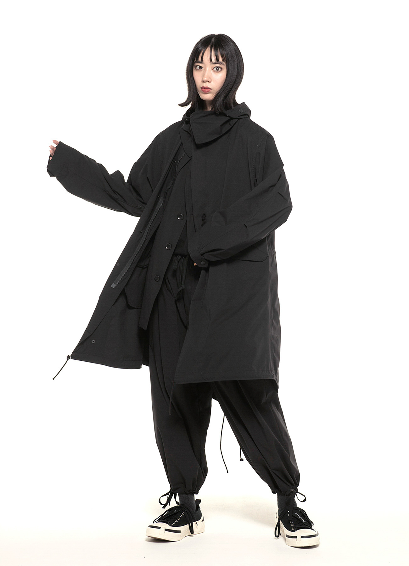 Soltex Packable Traveler Detachable Mods Coat