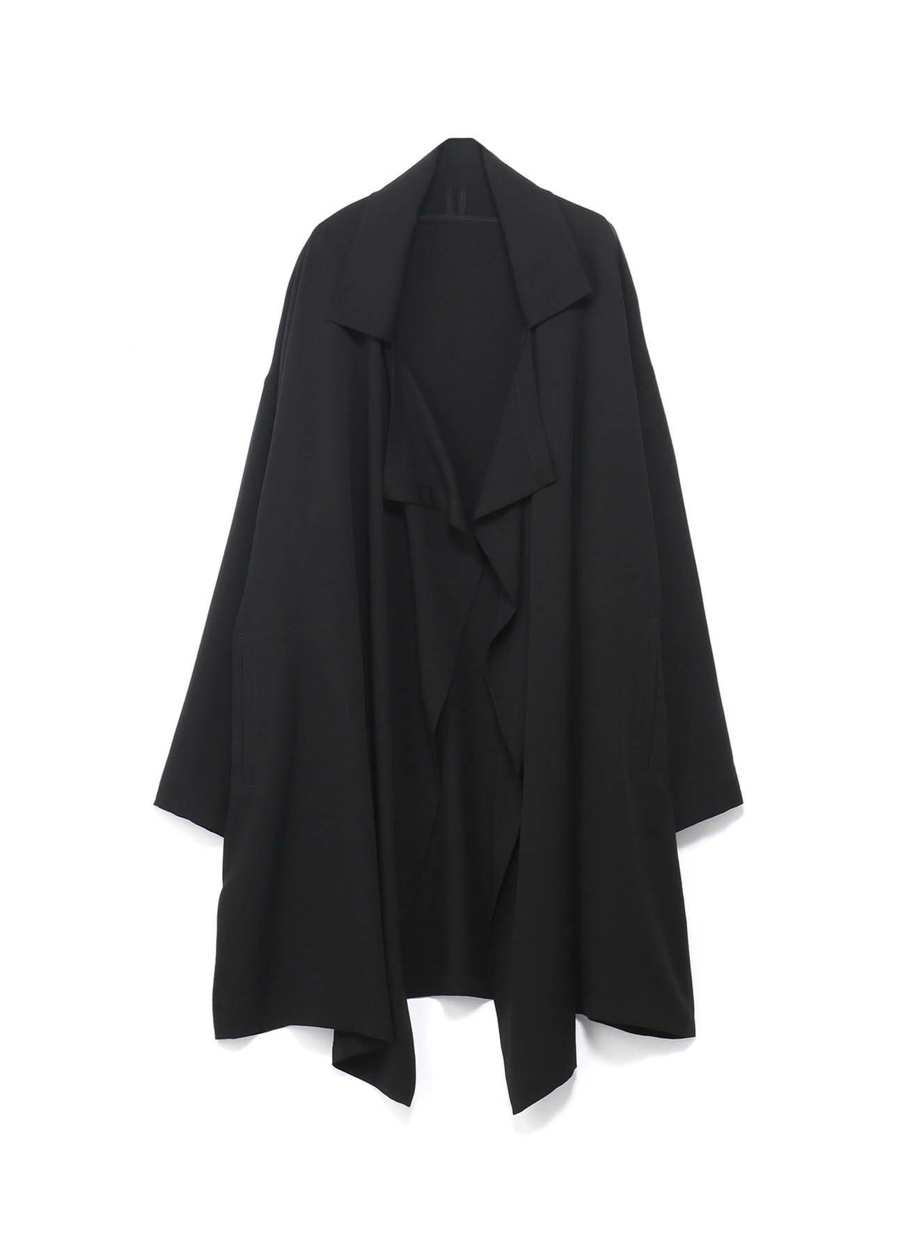 Tencel /Burberry Frame Double Collar Drape Coat