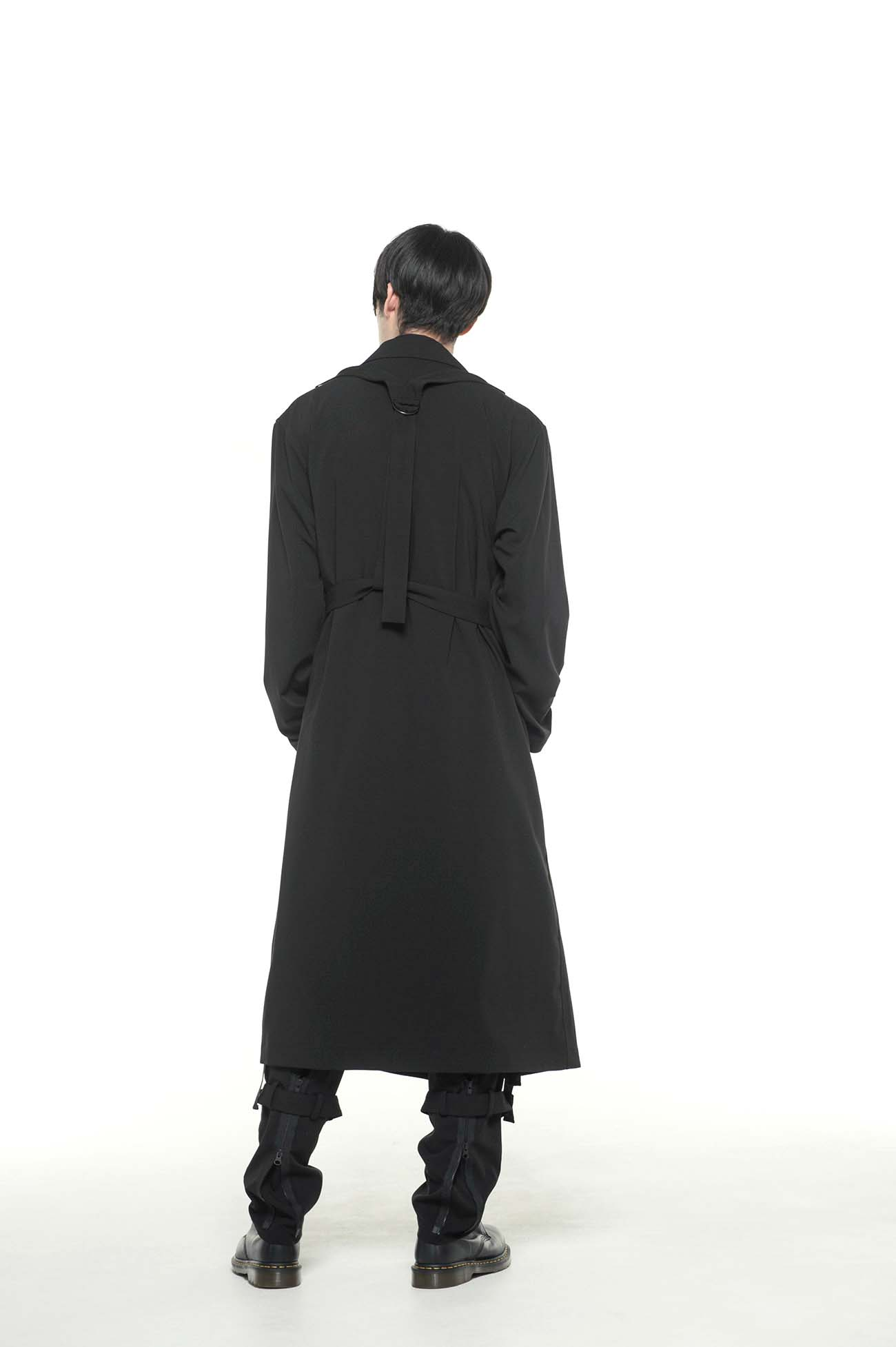 Pe/Rayon Gabardine Stretch Bandage Coat
