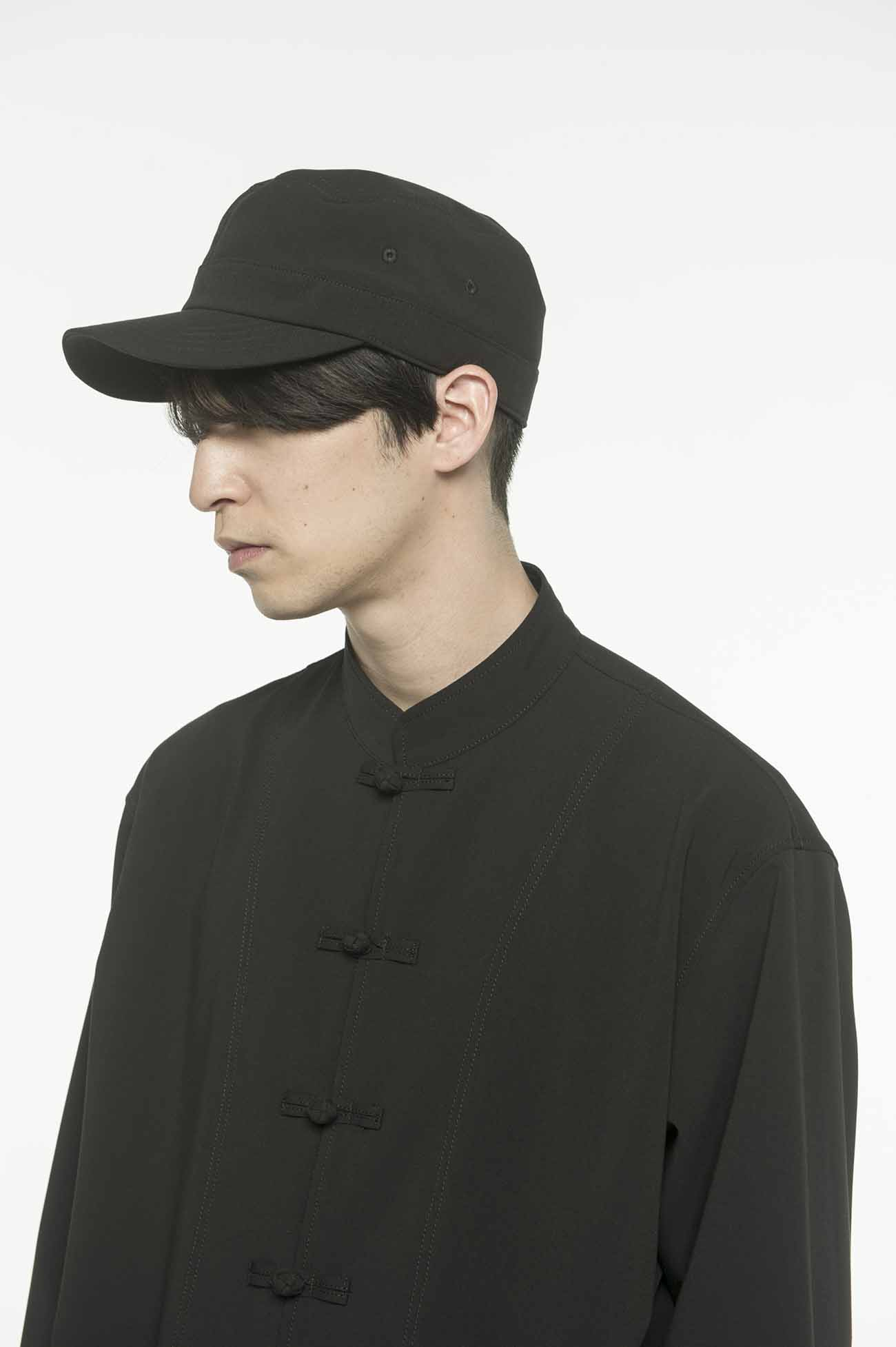 Pe/Rayon Gabardine Stretch Military Work Cap