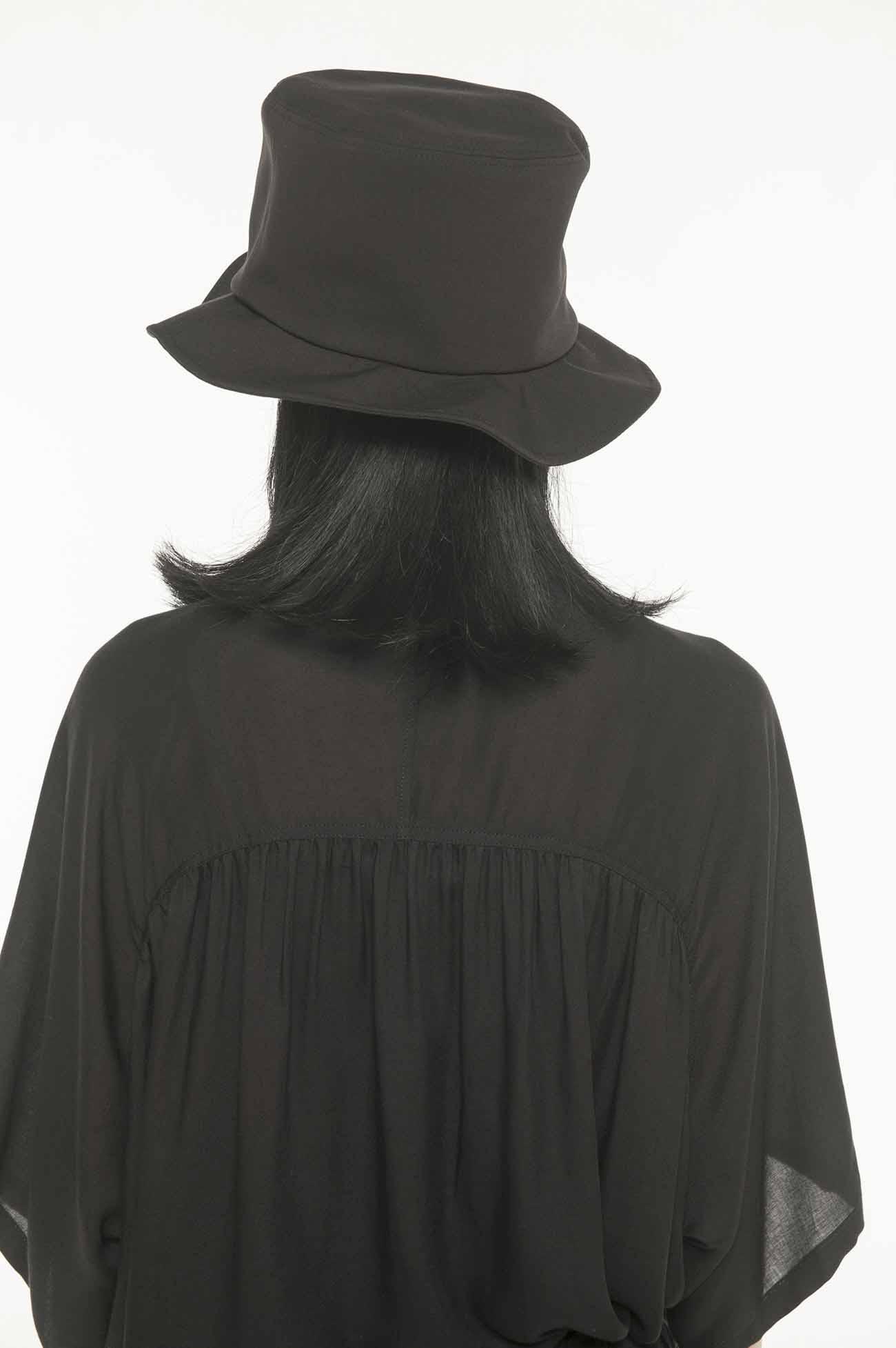Pe/Rayon Gabardine Stretch Flat Top Circular Hat