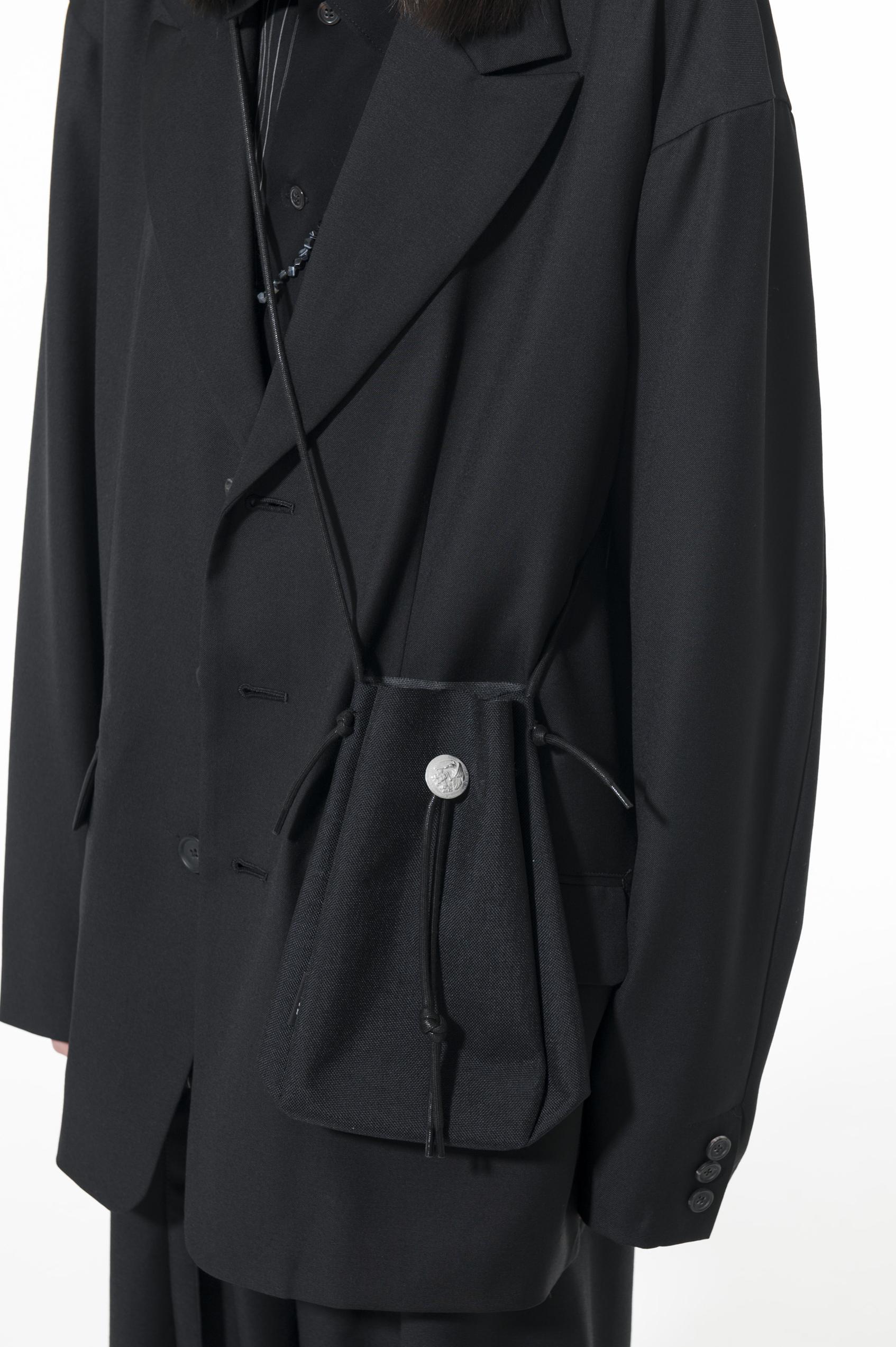 Concho Drawstring Shoulder Bag