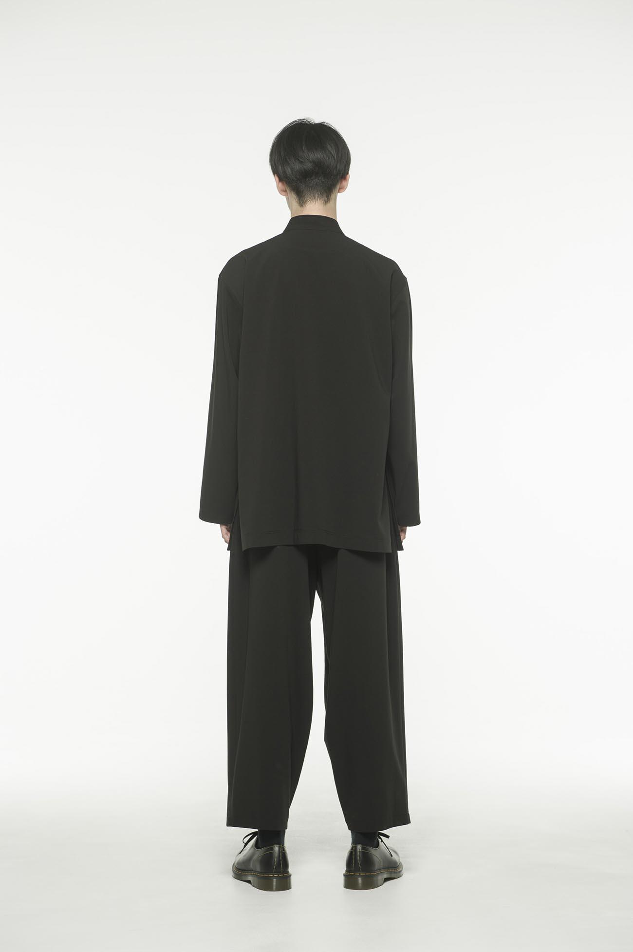 Pe/Rayon Gabardine Stretch China Jacket