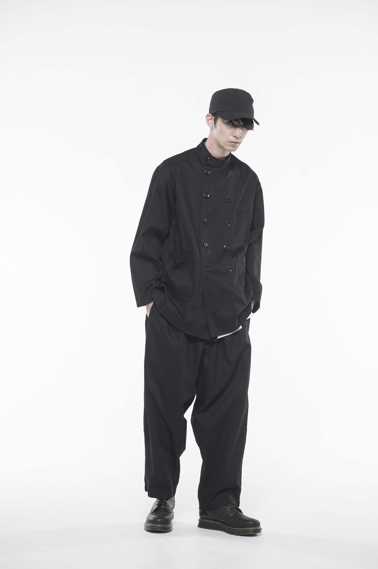 20/Cotton Twill Washer Cook Shirt Jacket