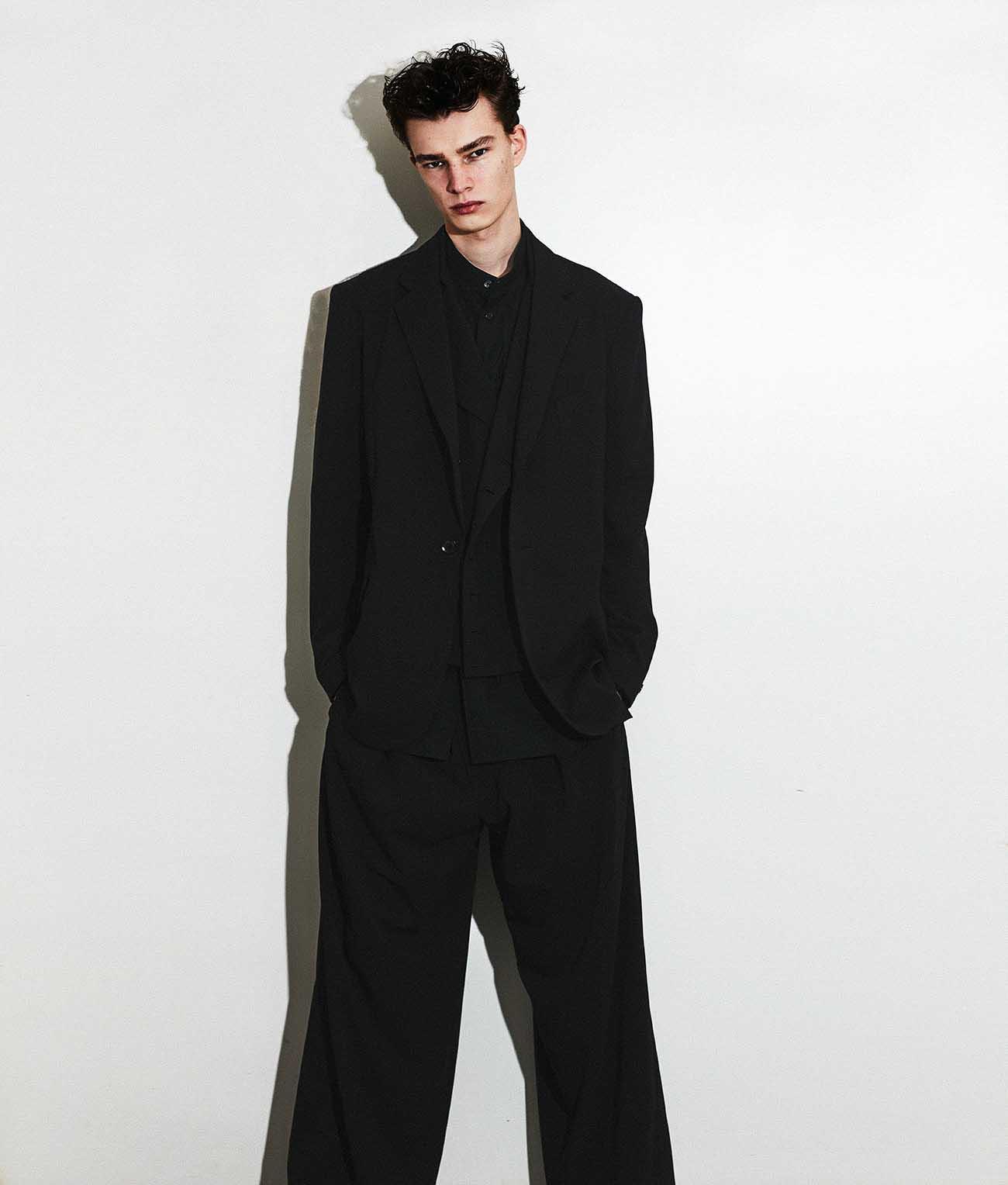 Pe/Rayon Gabardine One Tuck Waist Adjust Buggy Pants