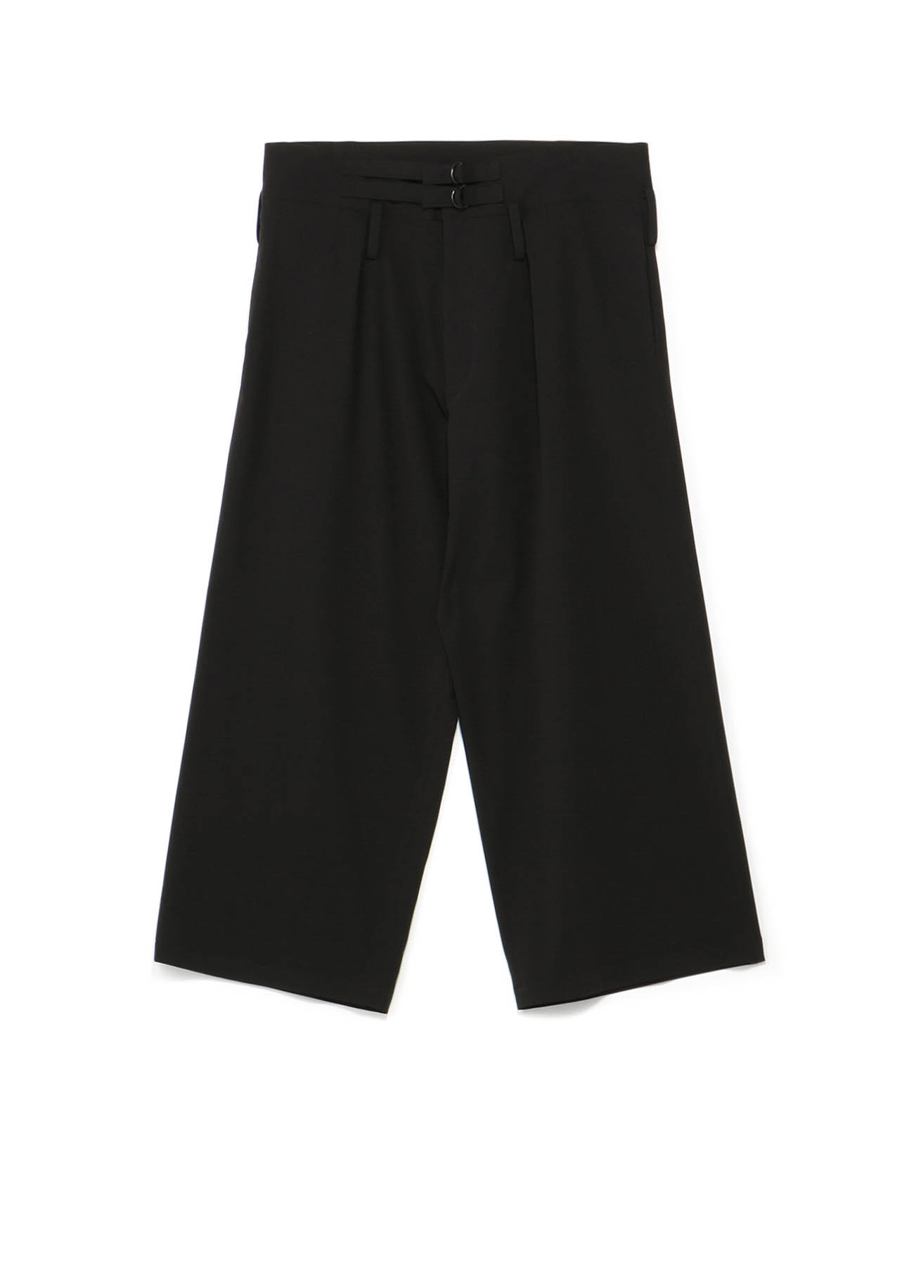 Pe/Rayon Gabardine One Tuck Waist Adjust Buggy Pants
