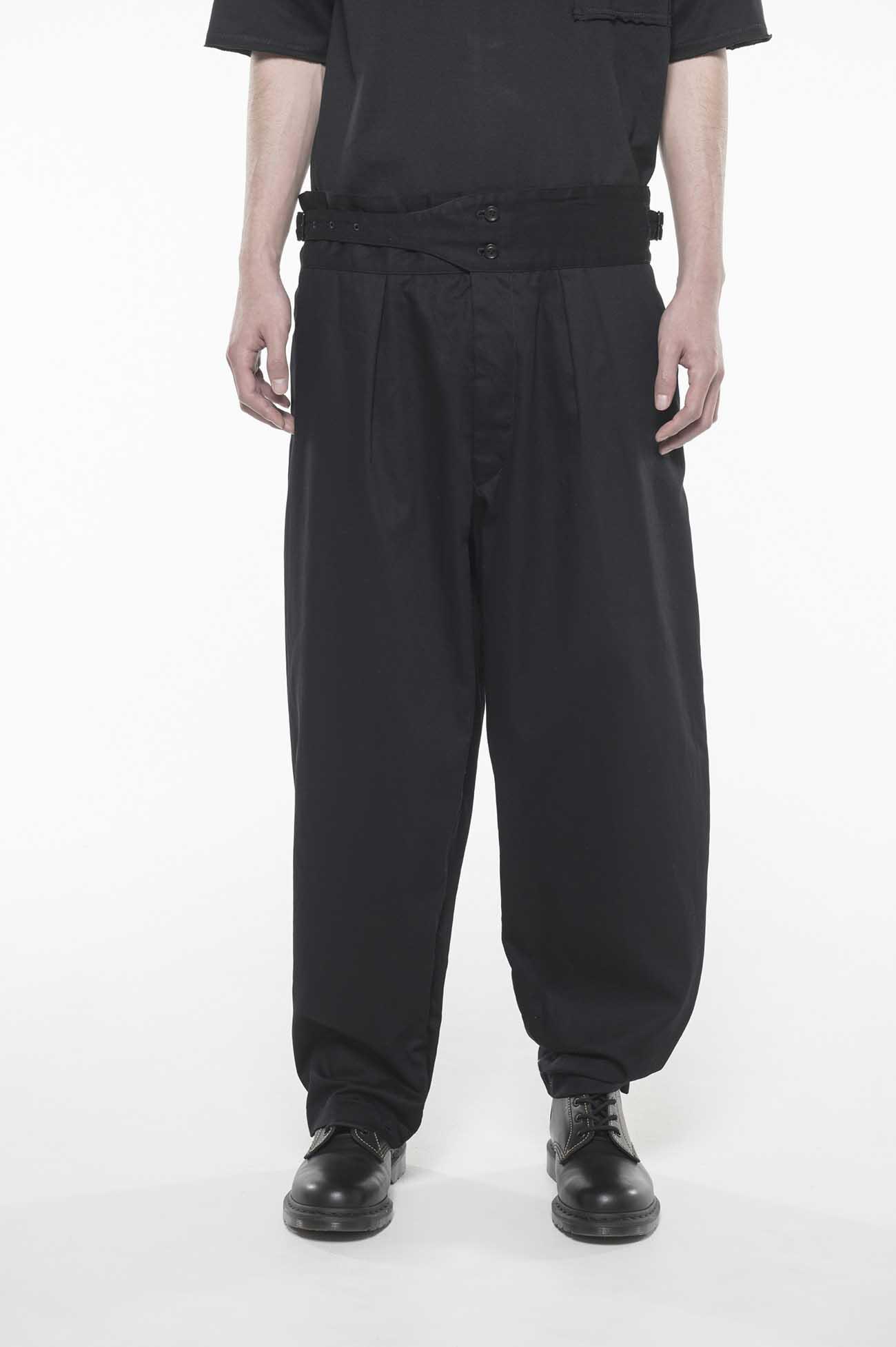 20/Cotton Twill Washer Gurkha Pants