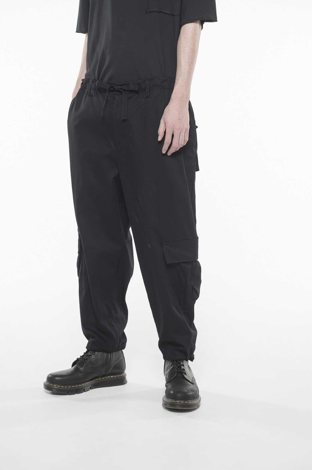 纯棉多重口袋工装裤
