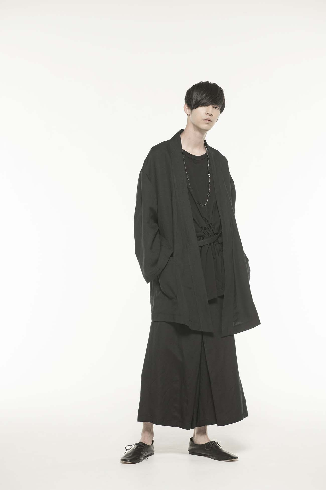 Rayon/Linen Bio Washer Hakama Pants