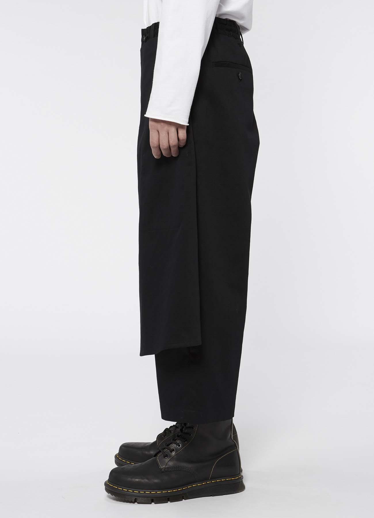 纯棉卷裹七分裤
