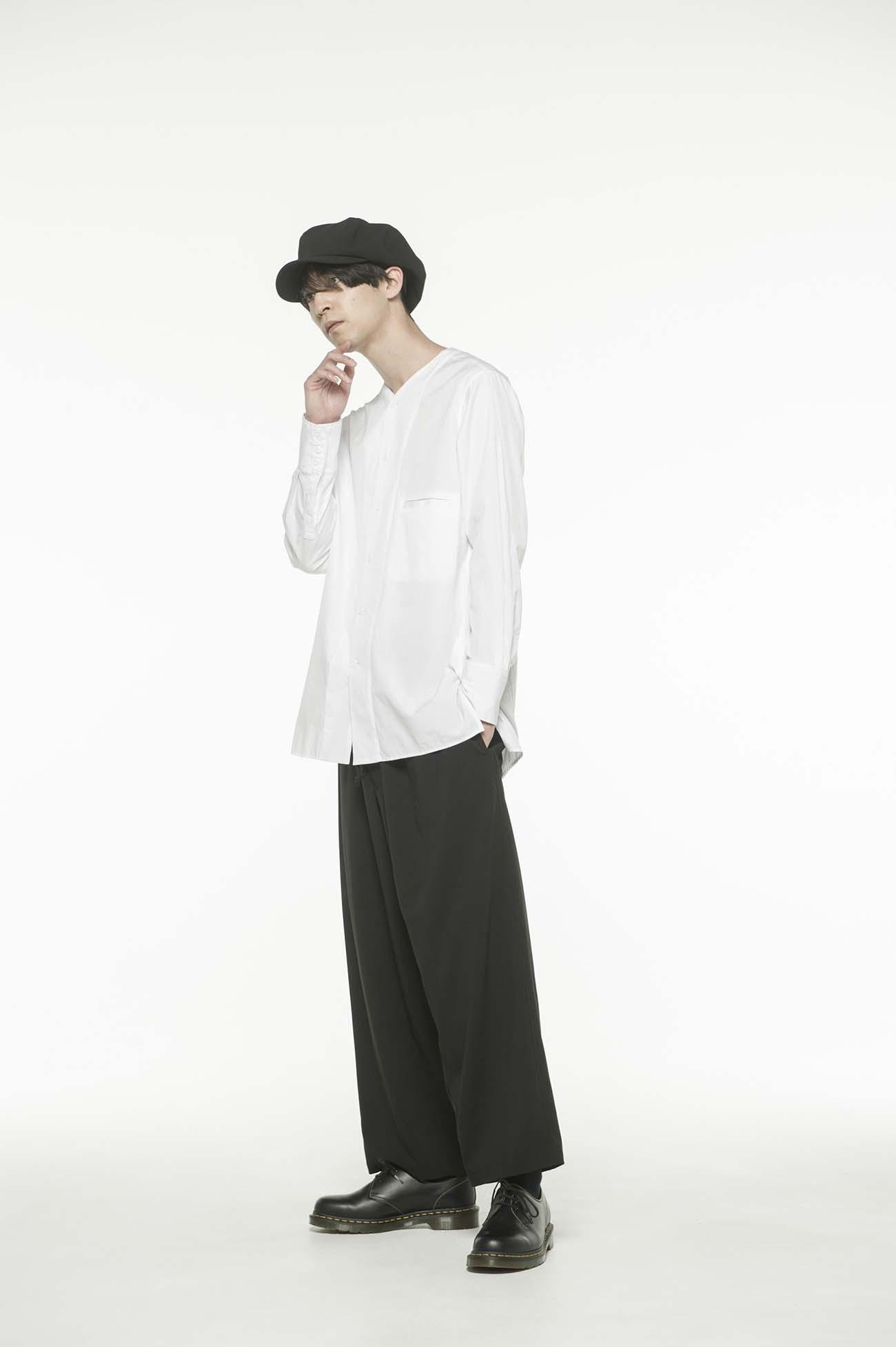 Pe/Rayon Gabardine Waist String Pants