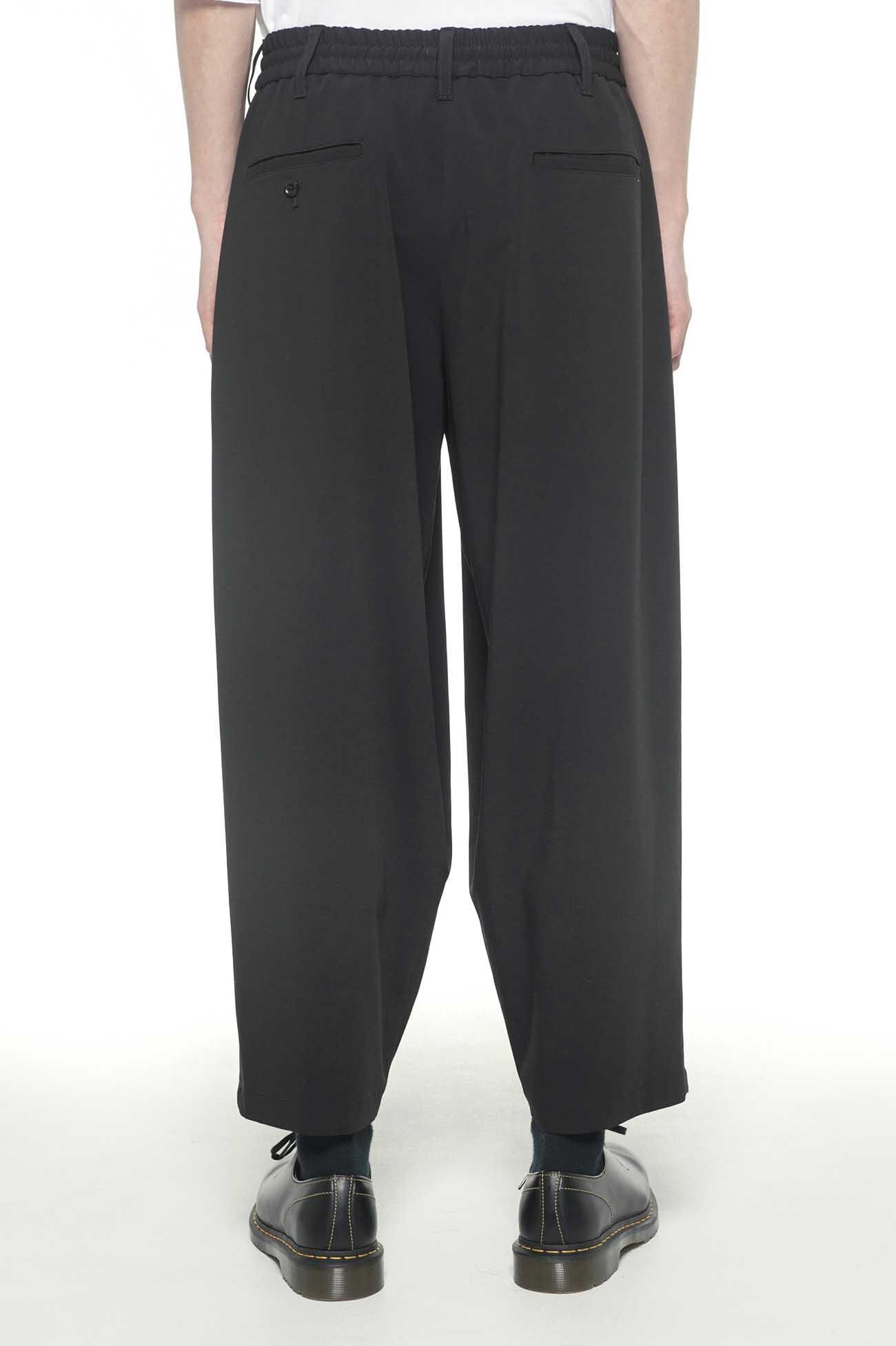 Pe/Rayon Gabardine Stretch Center Wide Tack Pants