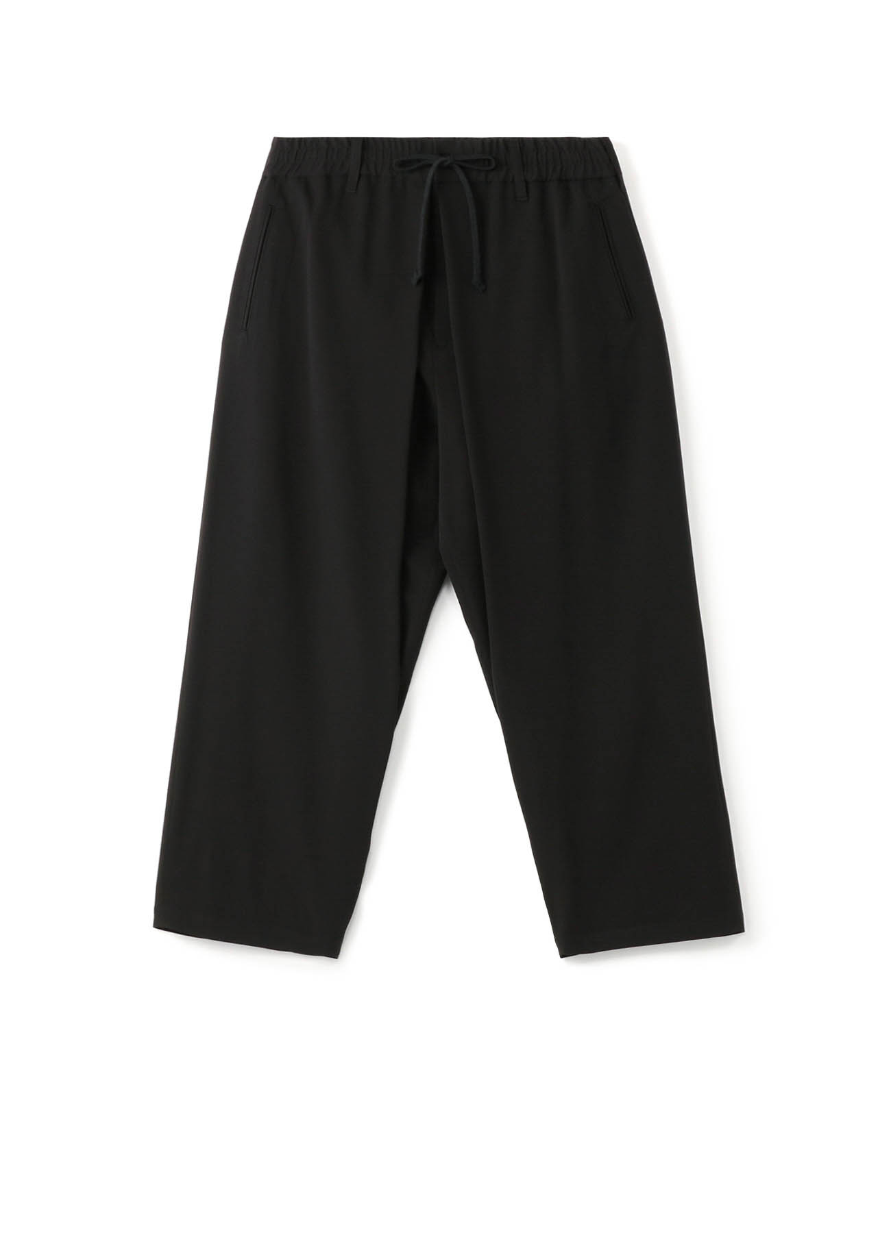 Pe/Rayon Gabardine Center Wide Tack Pants