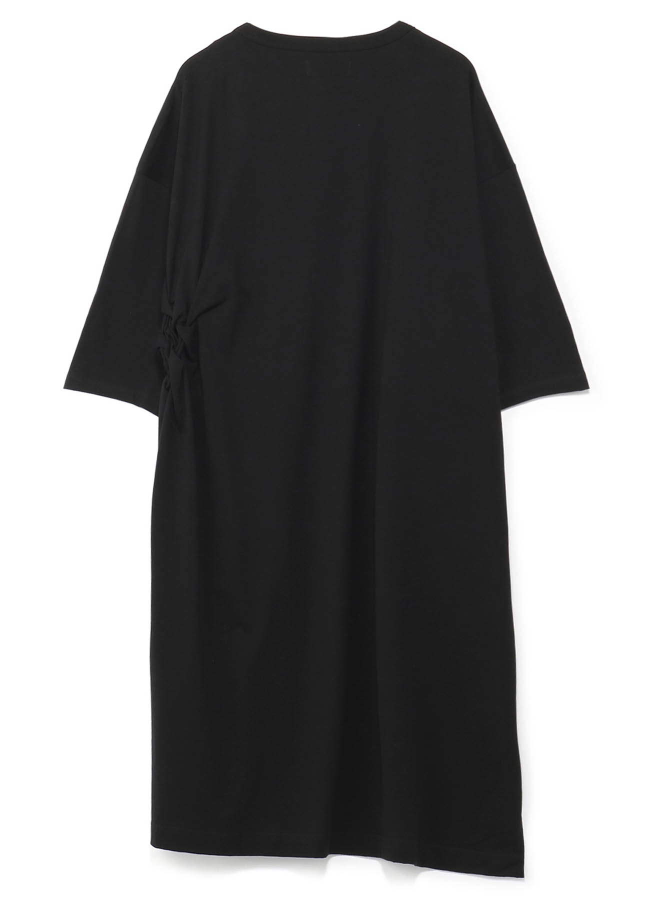 40/2 Cotton Jersey Lattice Smocking Pocket T-shirt