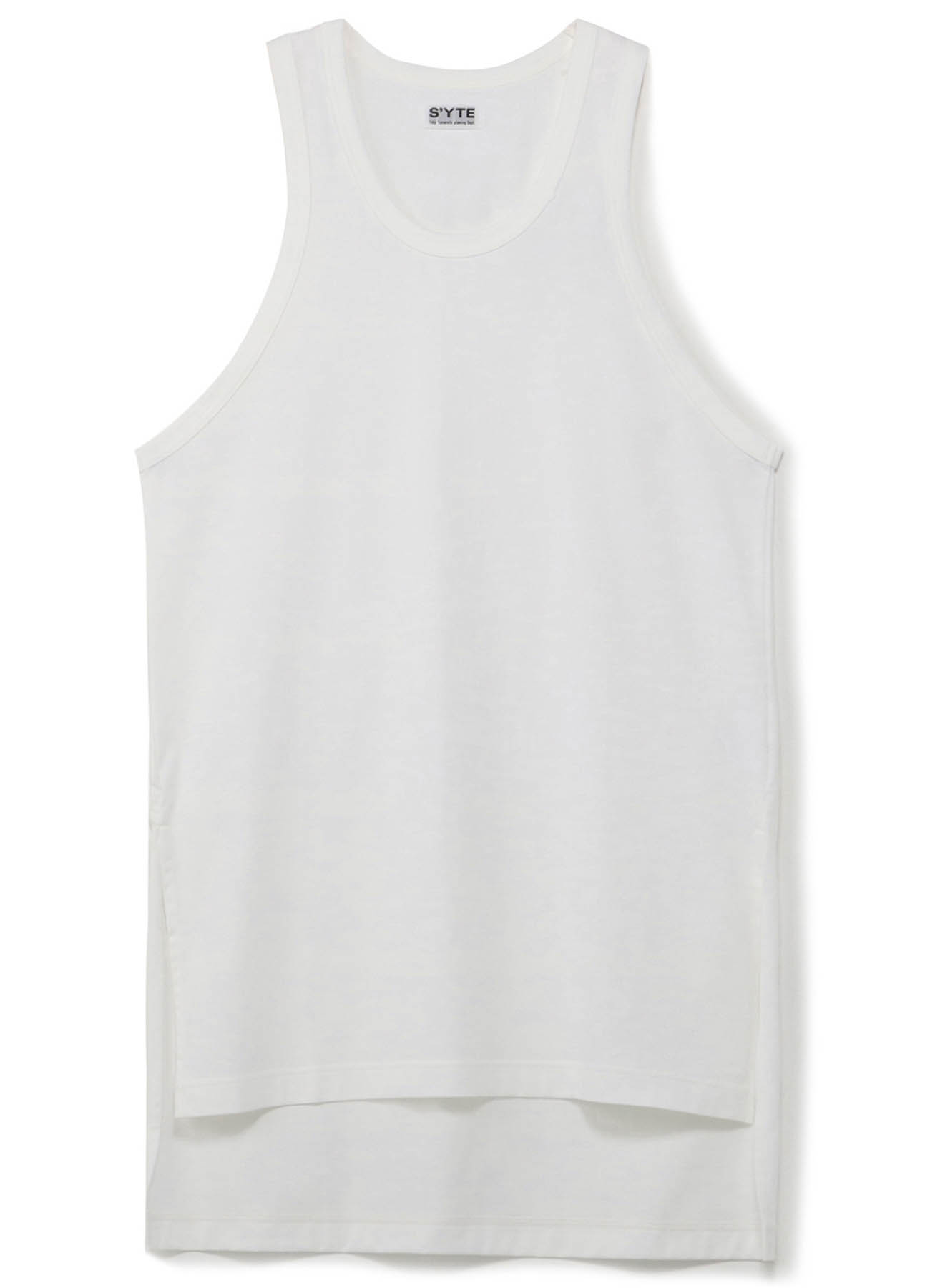 40/2 Cotton Jersey Long Big Tank Top
