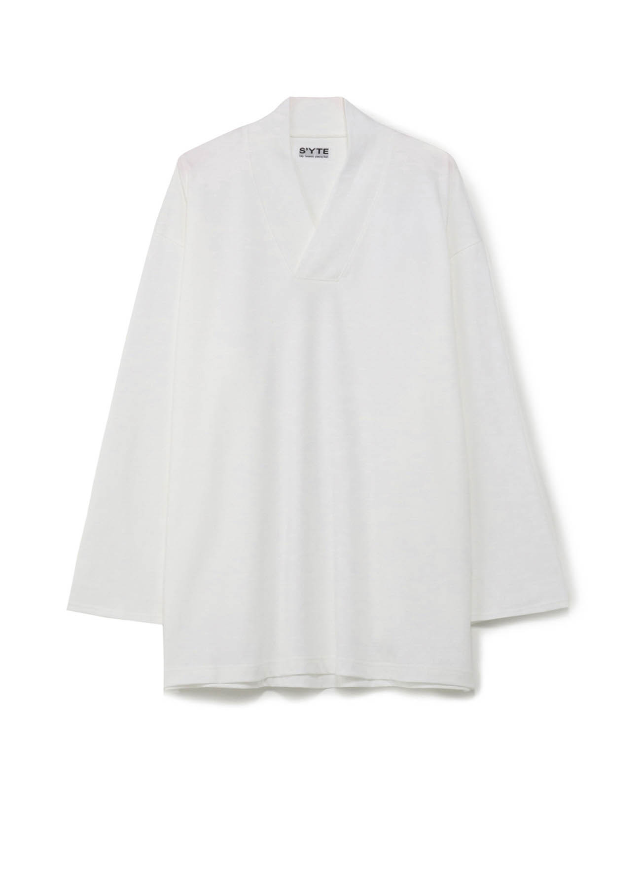 40/2 Cotton Jersey Kimono Layering Vneck 6minute Sleeve Pull owner
