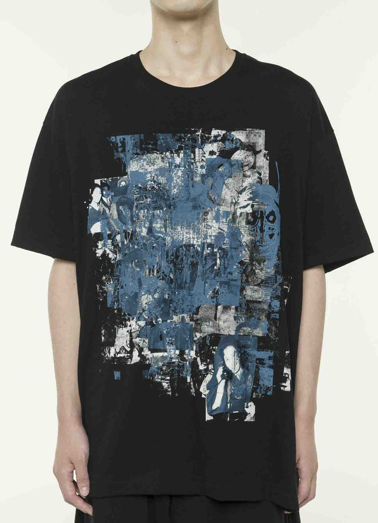 20/CottonJersey Incident 5-18 Collage T-Shirt *Masterpiece reproduction