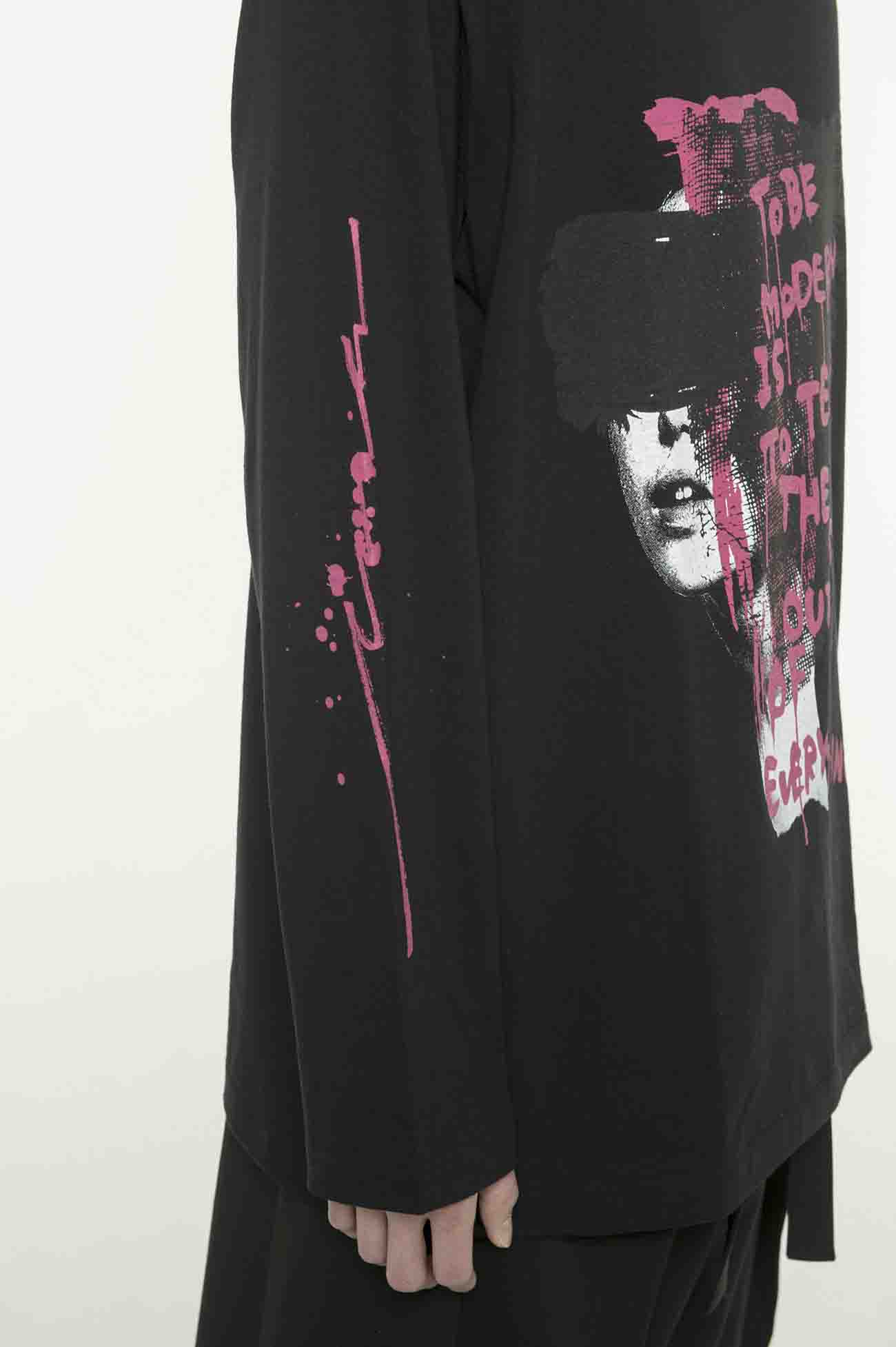 20/CottonJersey Tears of Pink Long Sleeve T-shirt