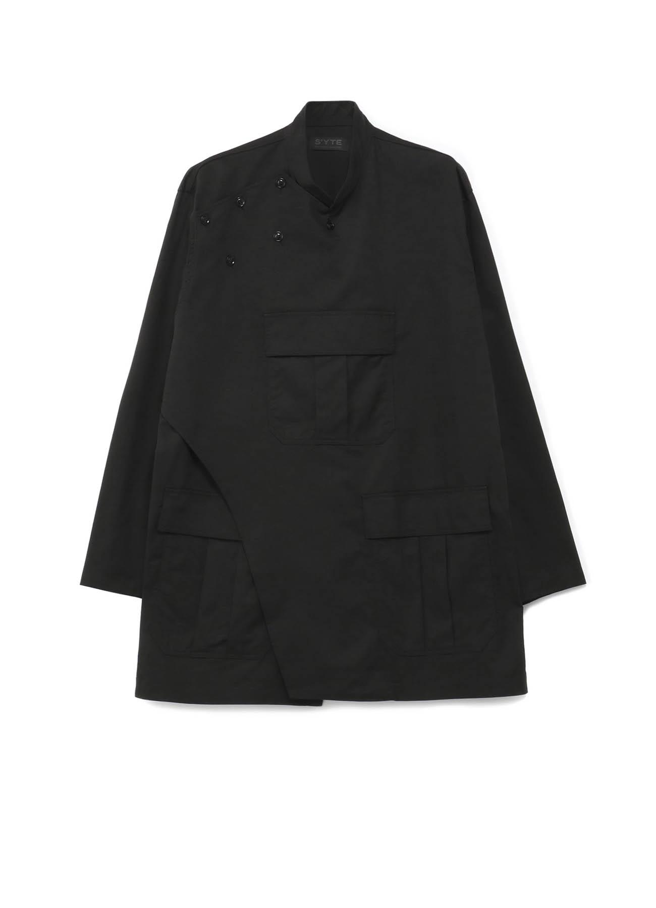 军用风立领夹克