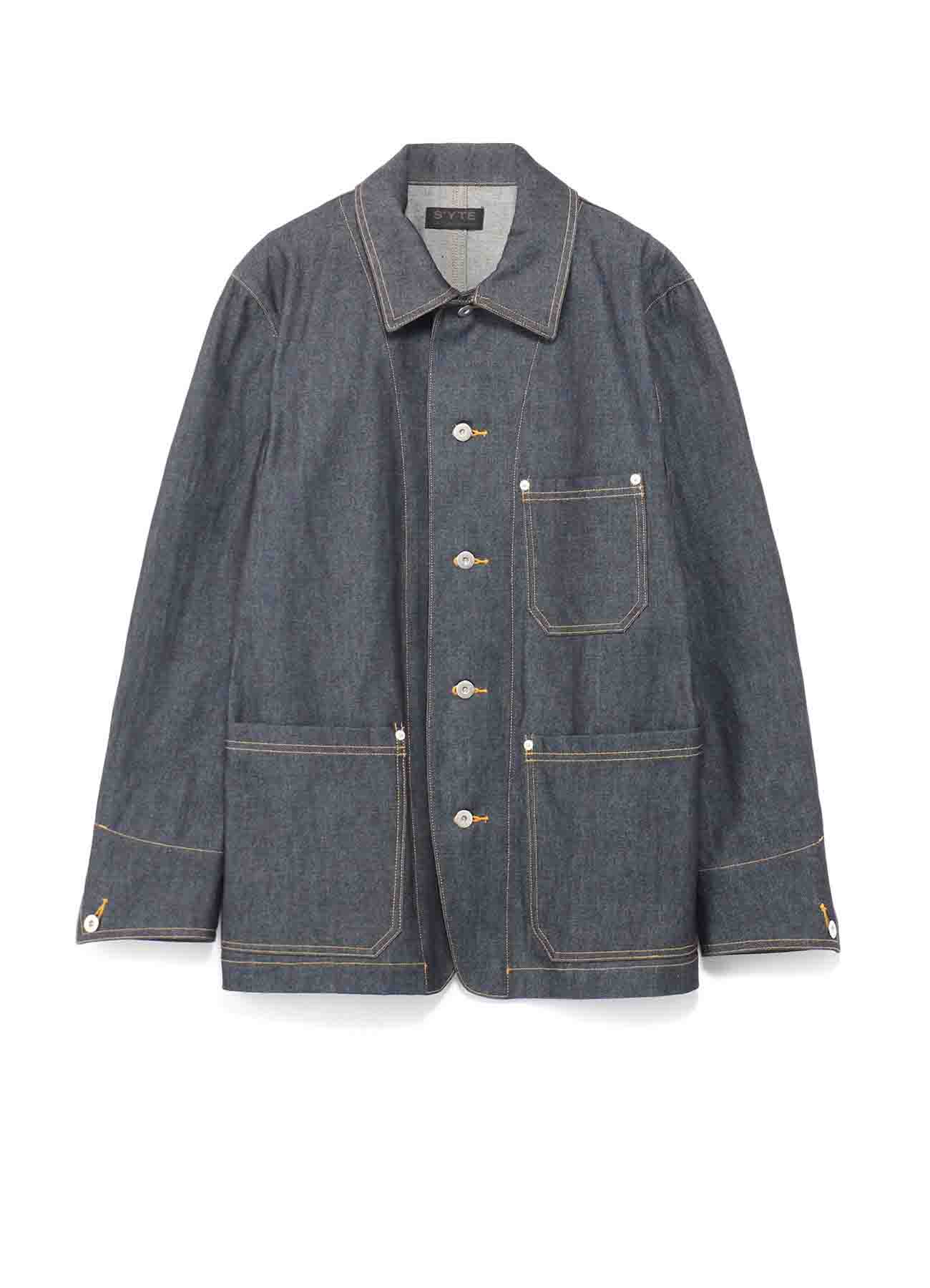 10 oz Denim Coveralls Jacket