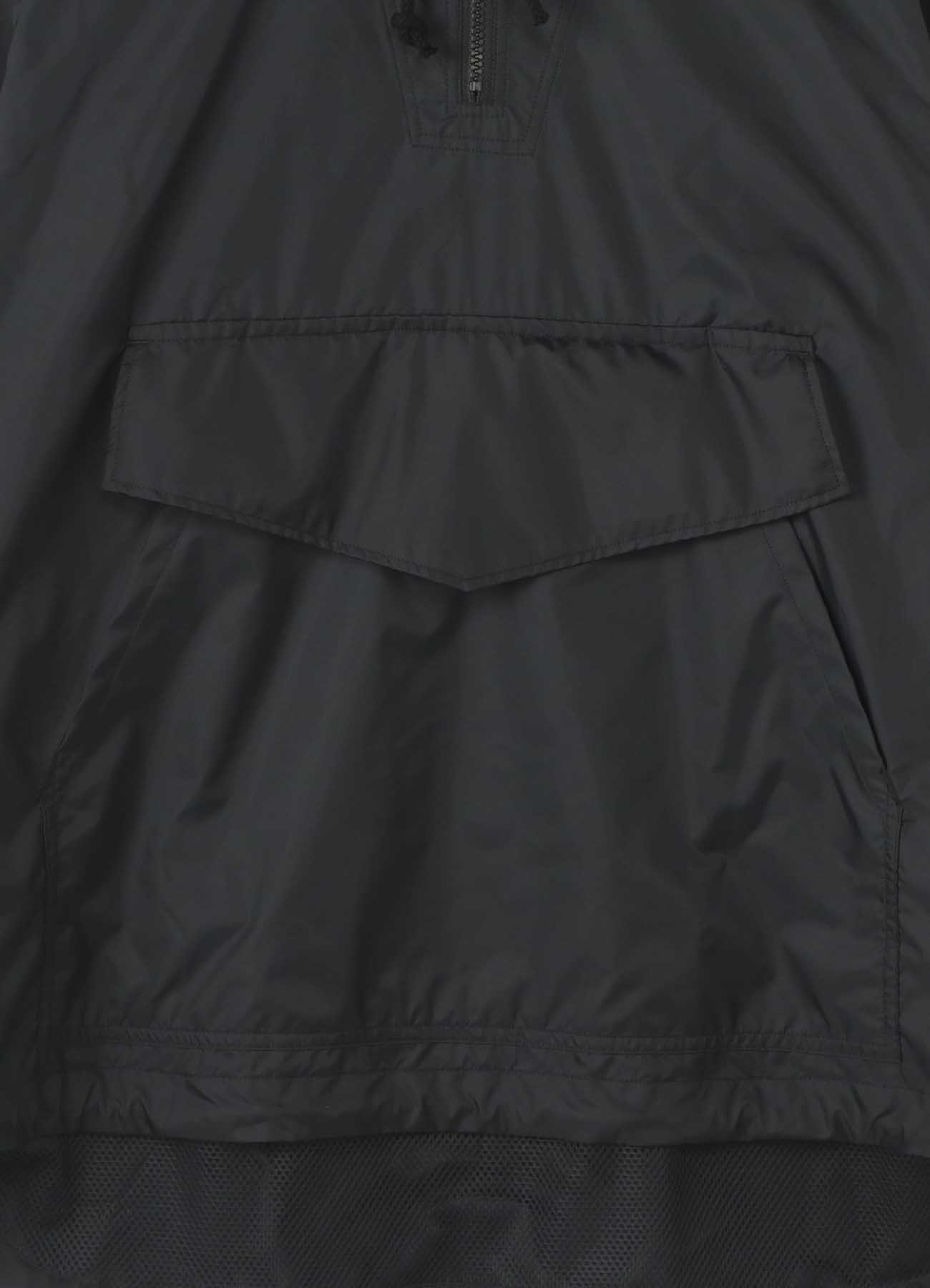 Nylon Taffeta Mesh Military Pullover Anorak