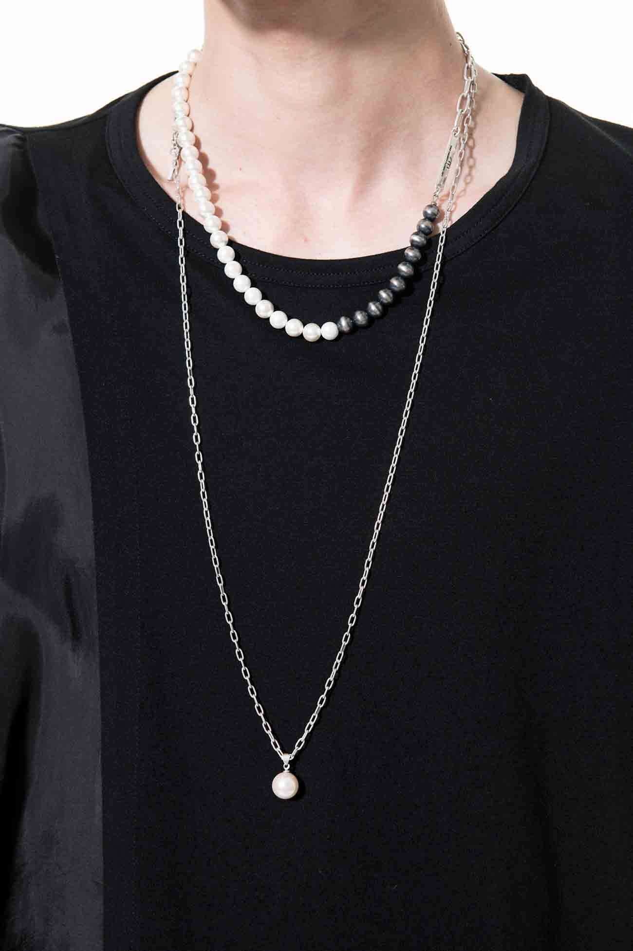 12mm One-top Pearl Necklace