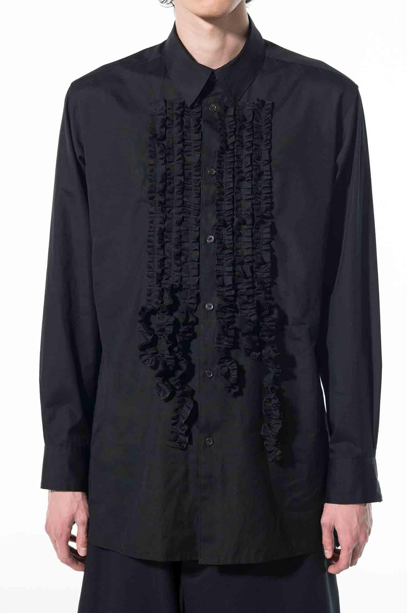 100/2 Broad Fringe Frill Shirt