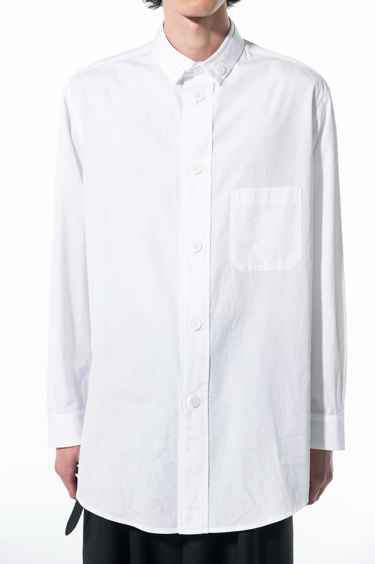 100/2 Broad Large Button Placket Shirt