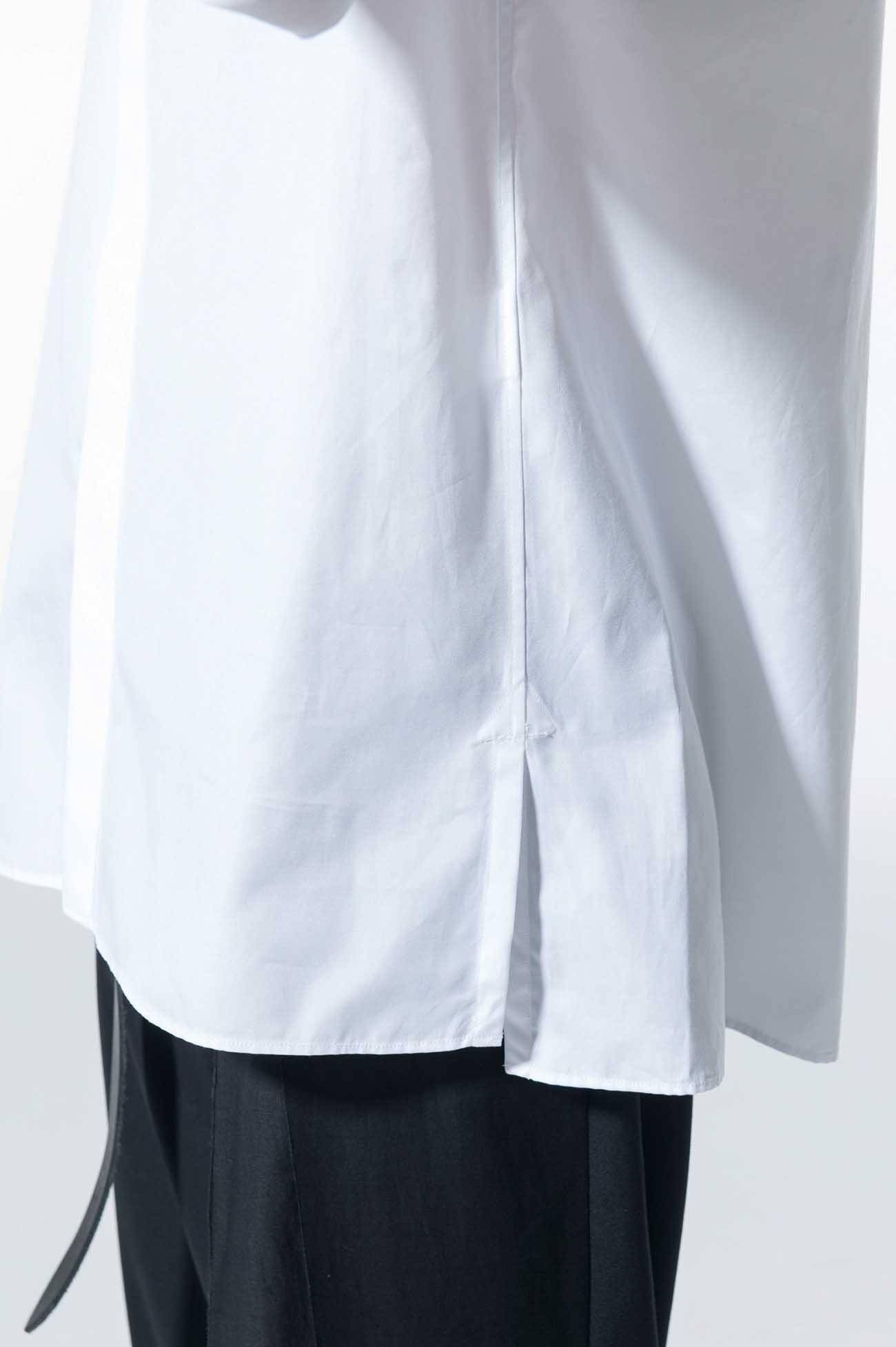 100/2 Broad Regular Collar Fly Front Shirt