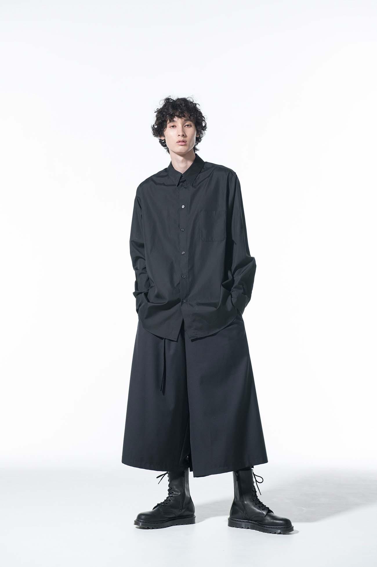 100/2 Broad Regular Collar Loose Fit Shirt