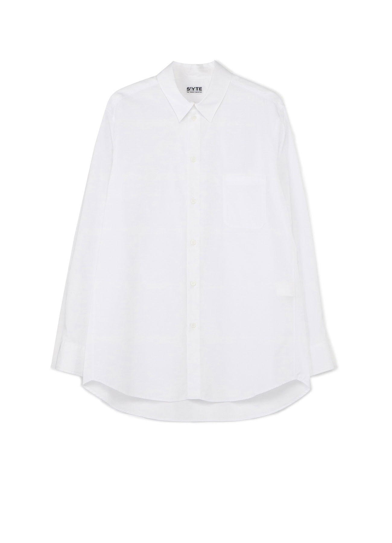 100/2 Broad Regular Collar Loose Fit Shirt