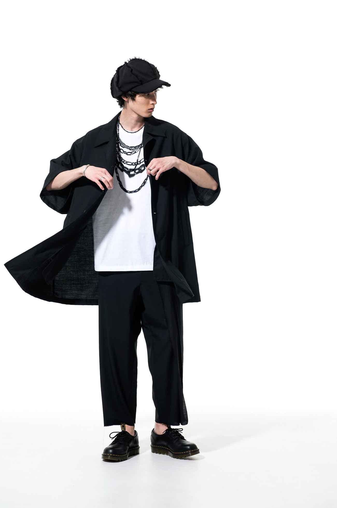 T/W Tropical Five-sleeve Big Topper jacket