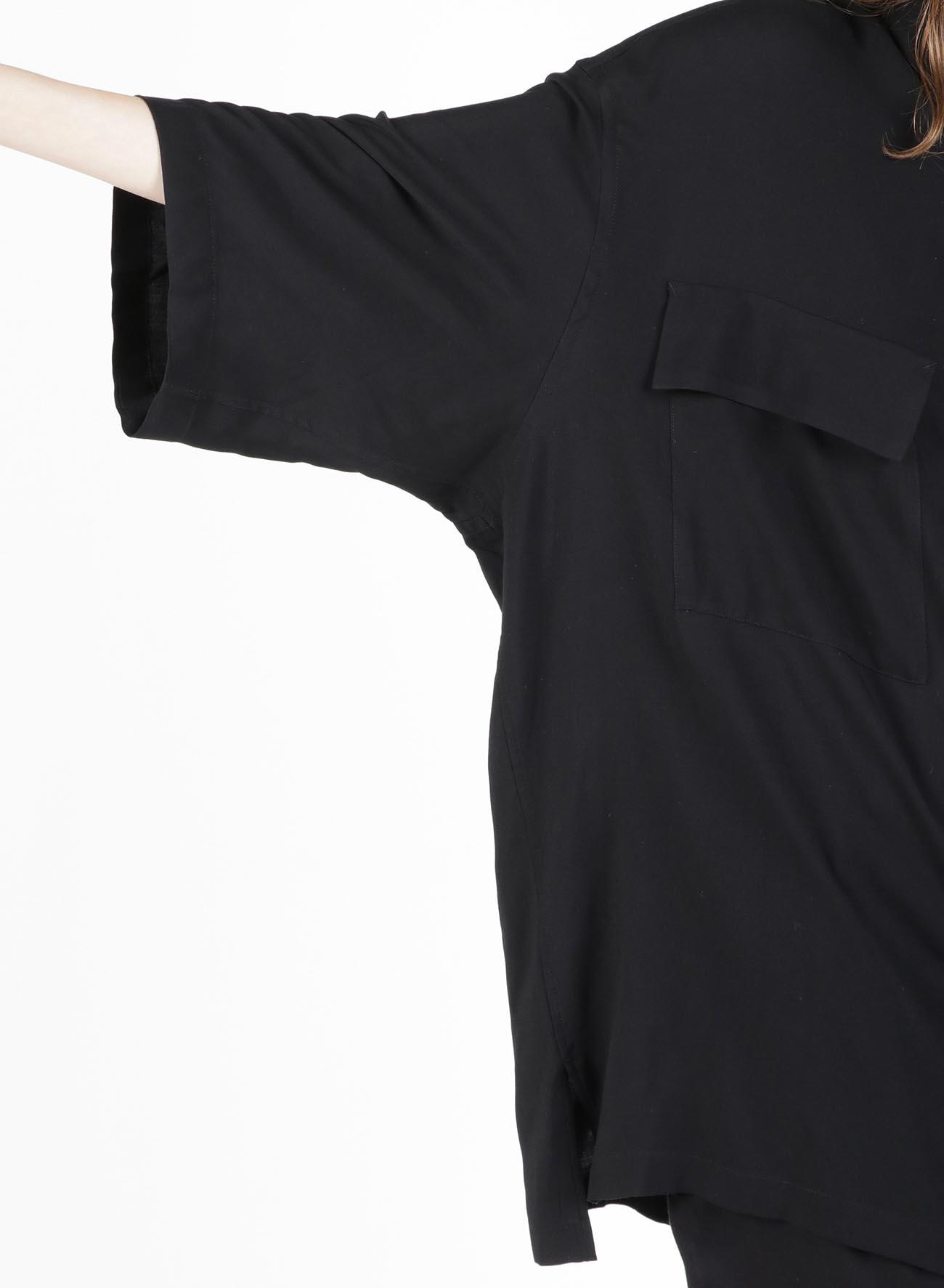 60s Ry/Span Twill Washer Double Pocket Regular Big Shirt