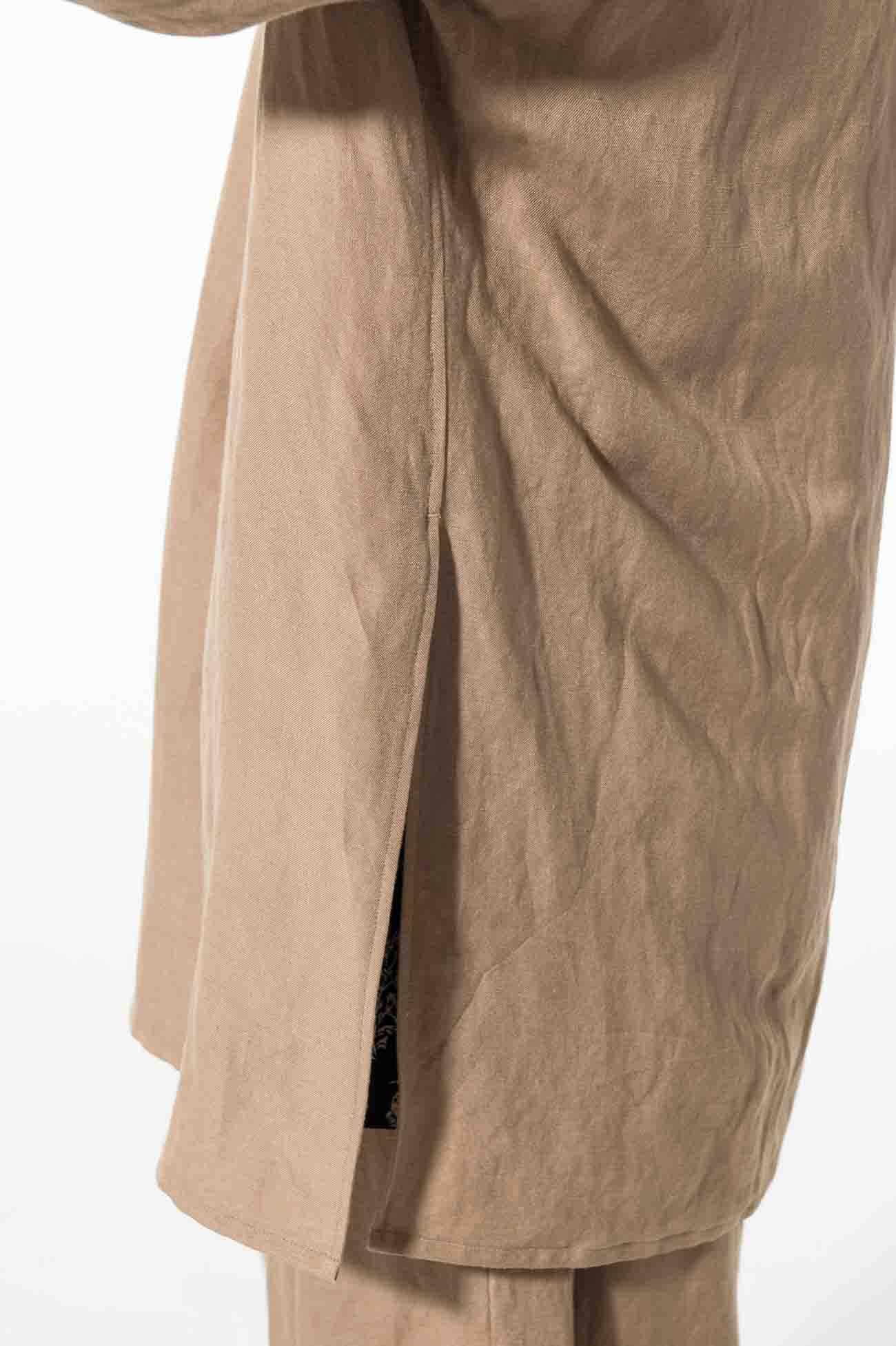 Ry/Li Easy Cross Ethnic Wrap Short Sleeve Shirt
