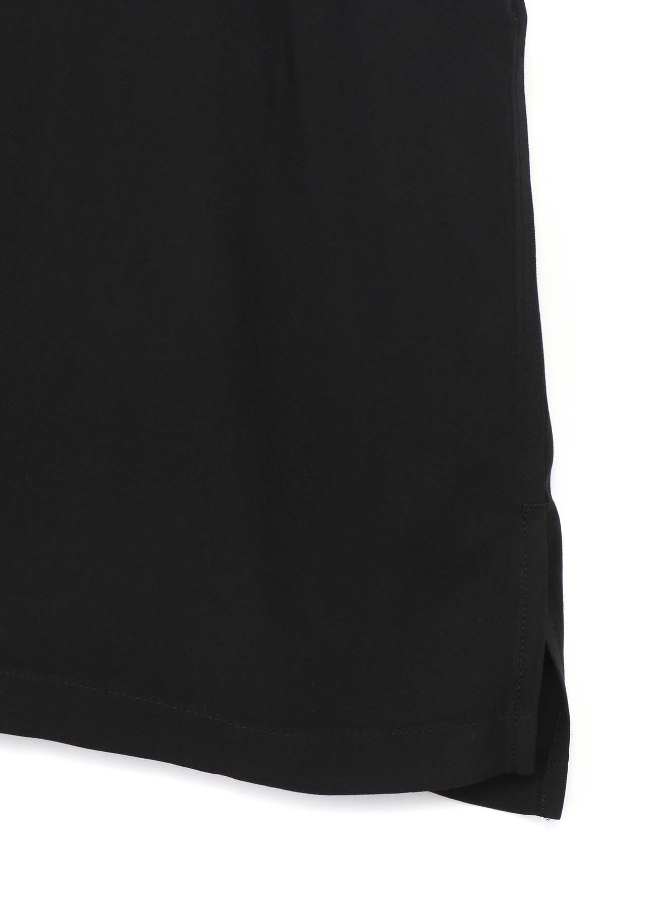 60s Ry/Span Twill Washer Open Collar Short Sleeve Big Shirt