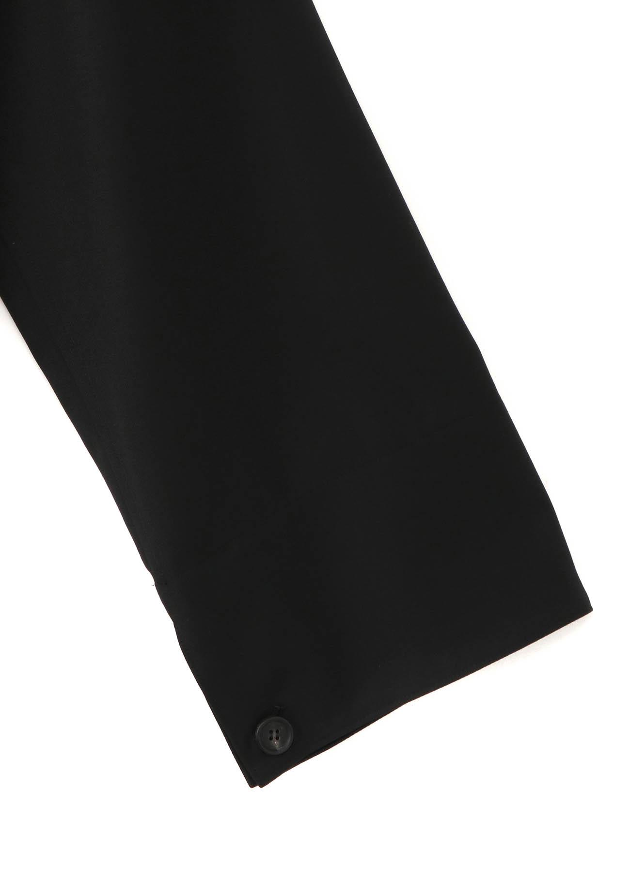 T/W Gabardine Tailored Wrap Dress Coat