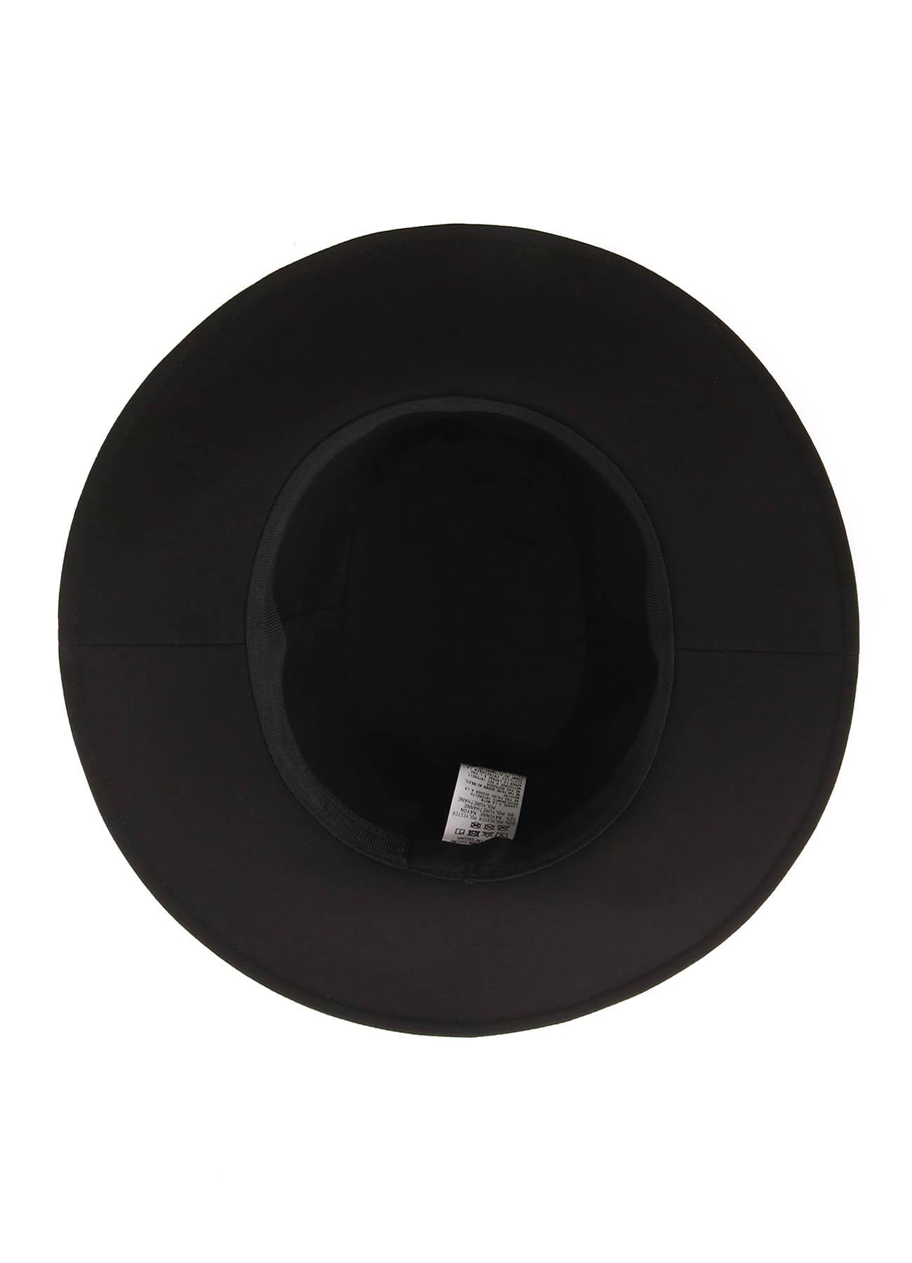 Pe/Rayon Gabardine Stretch Splash Paint Processing  Long Brim Hat
