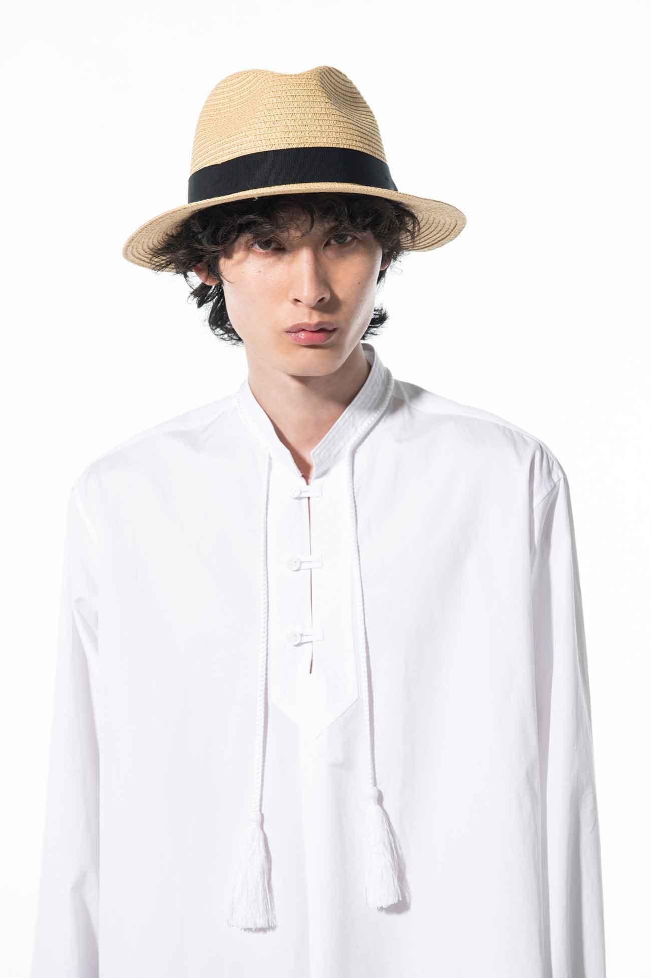 Straw Paper Medium Brim Hat