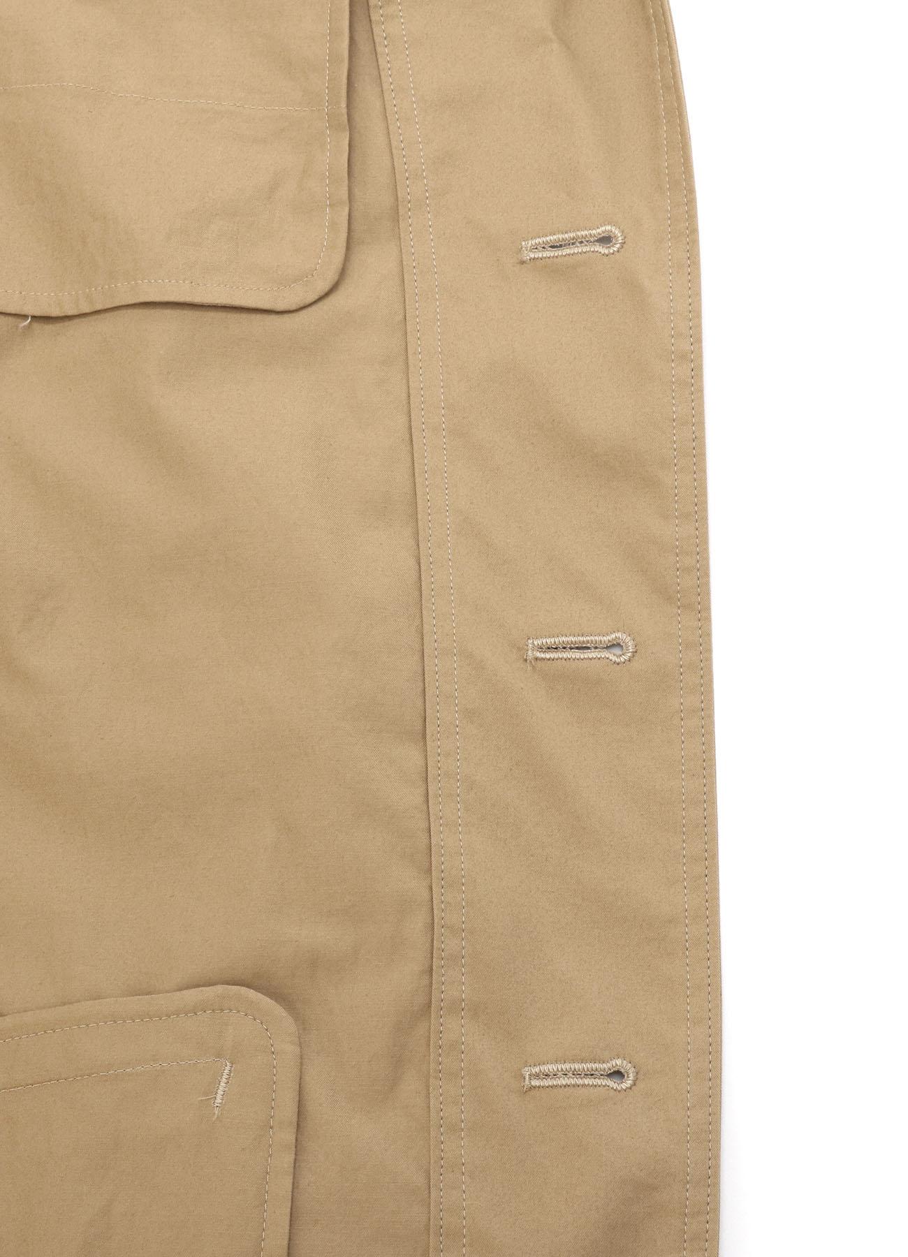 Cotton Twill 3BS Tailored Shirt Jacket