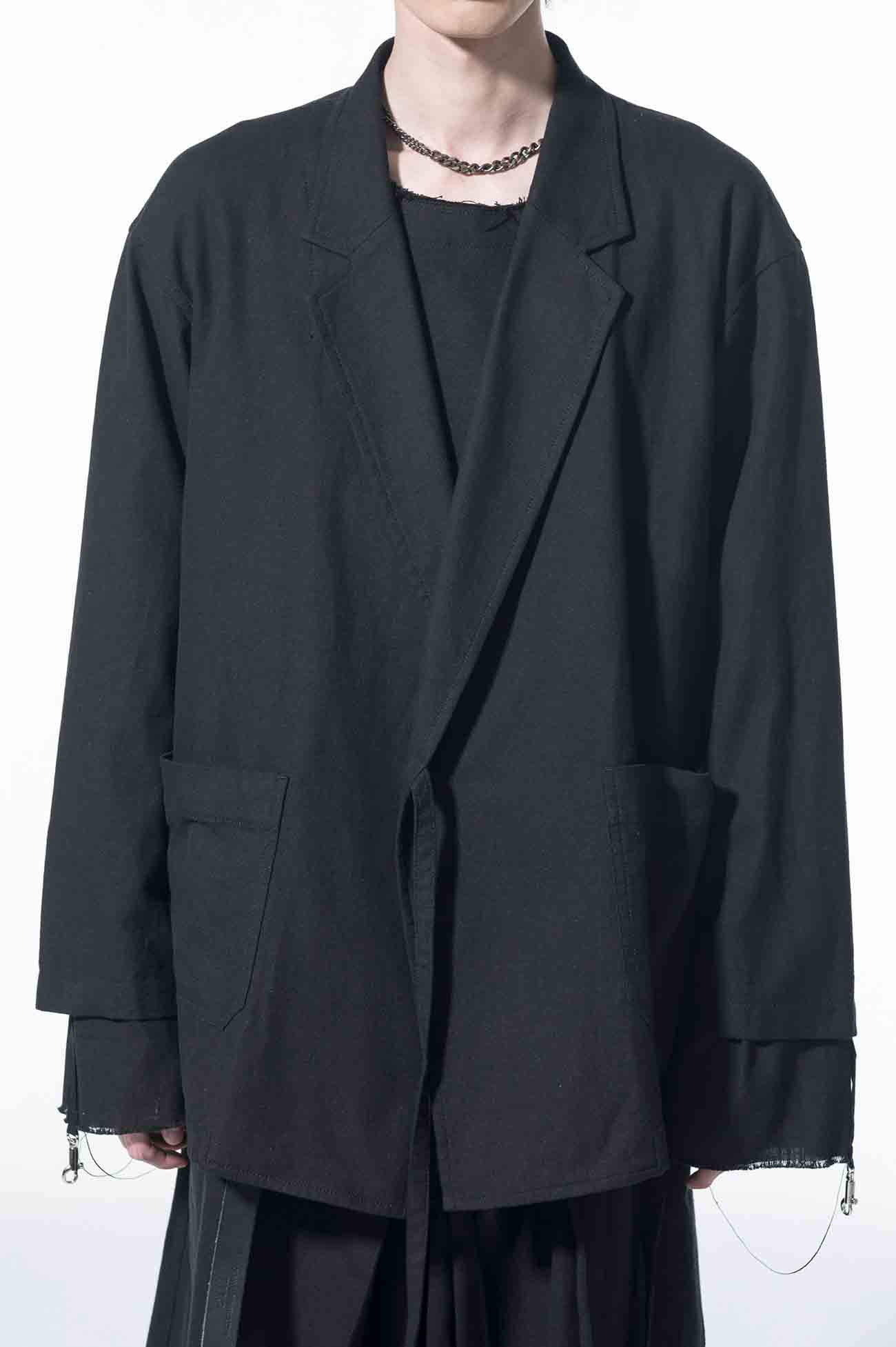 Indian Kadi Wrap Haori Tailored Jacket
