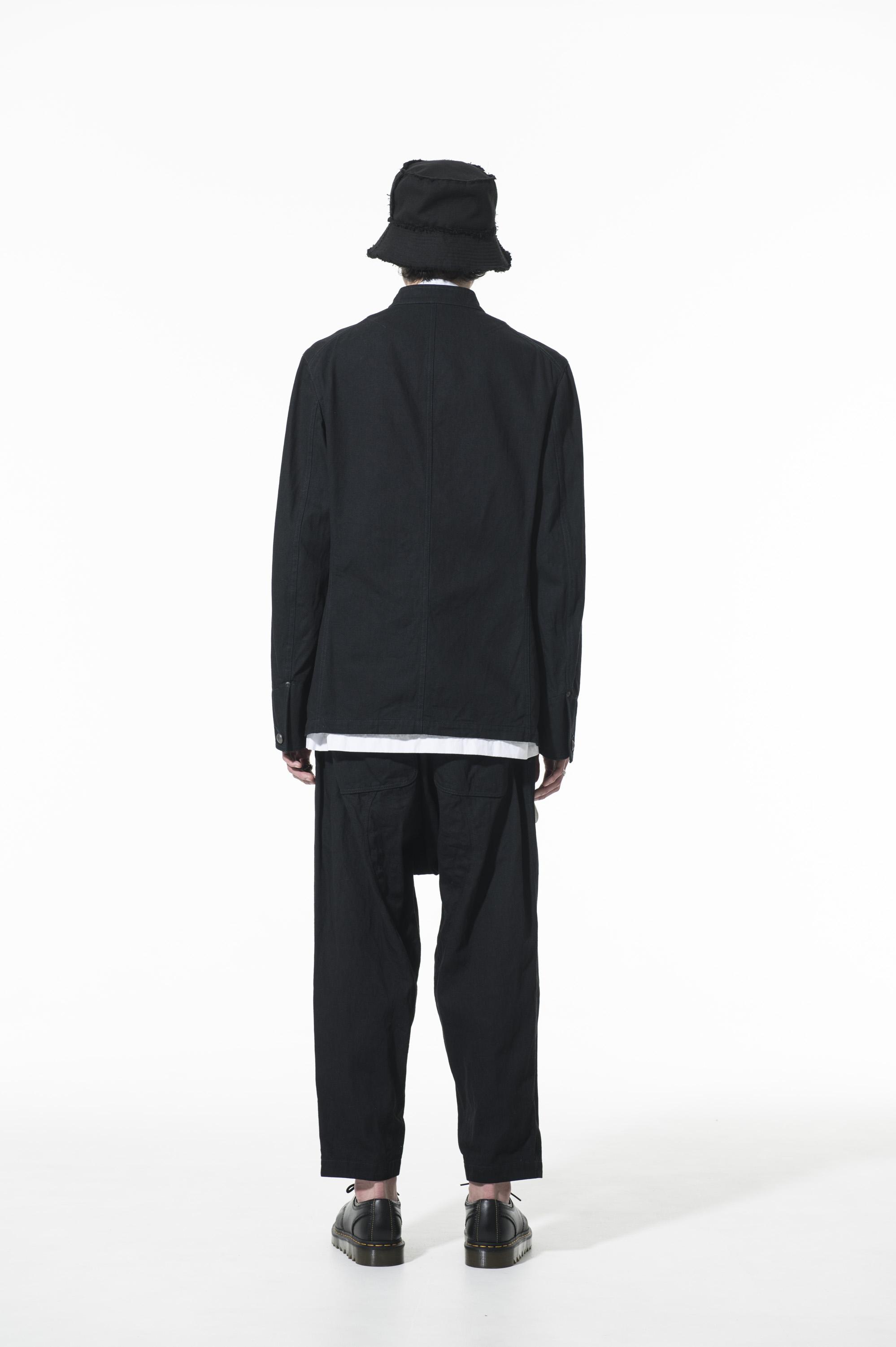 10 oz Denim stand collar Coveralls Jacket