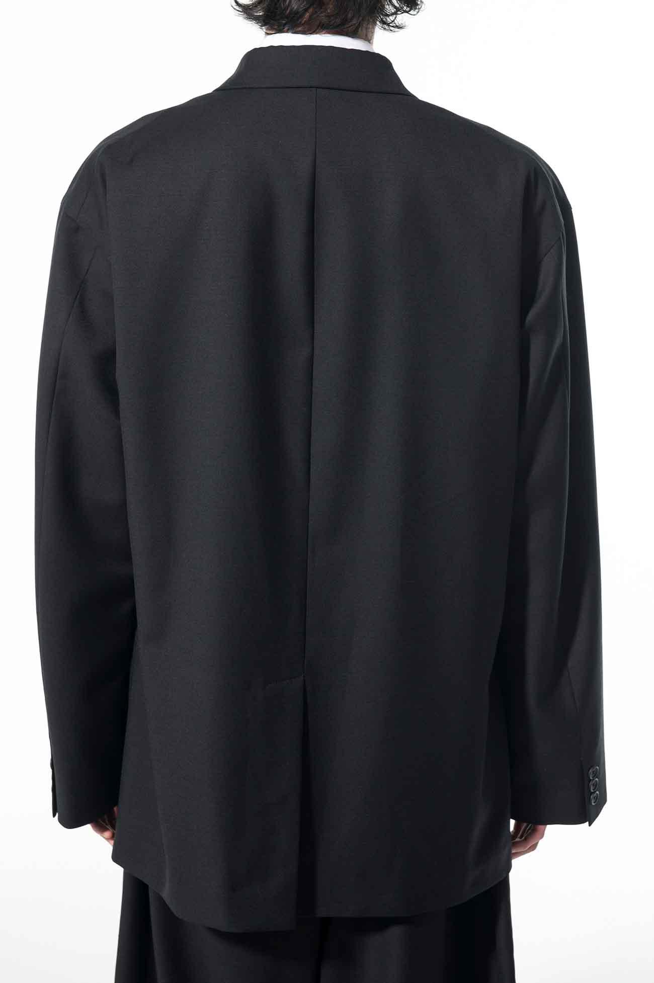 T/W Gabardine 3BS Peak Big Jacket