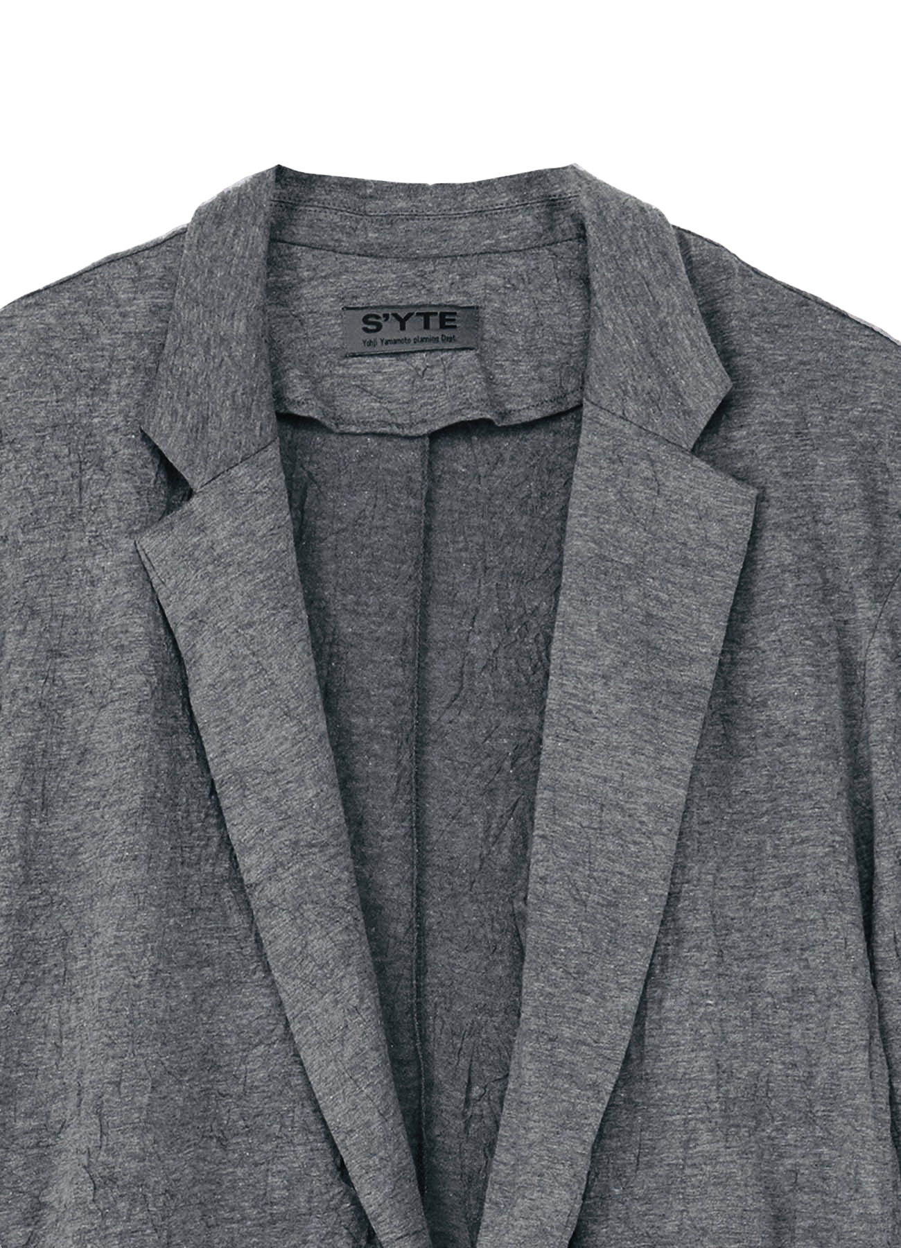 30/-T/C Jersey Catch Washer Tailored Cardigan Jacket