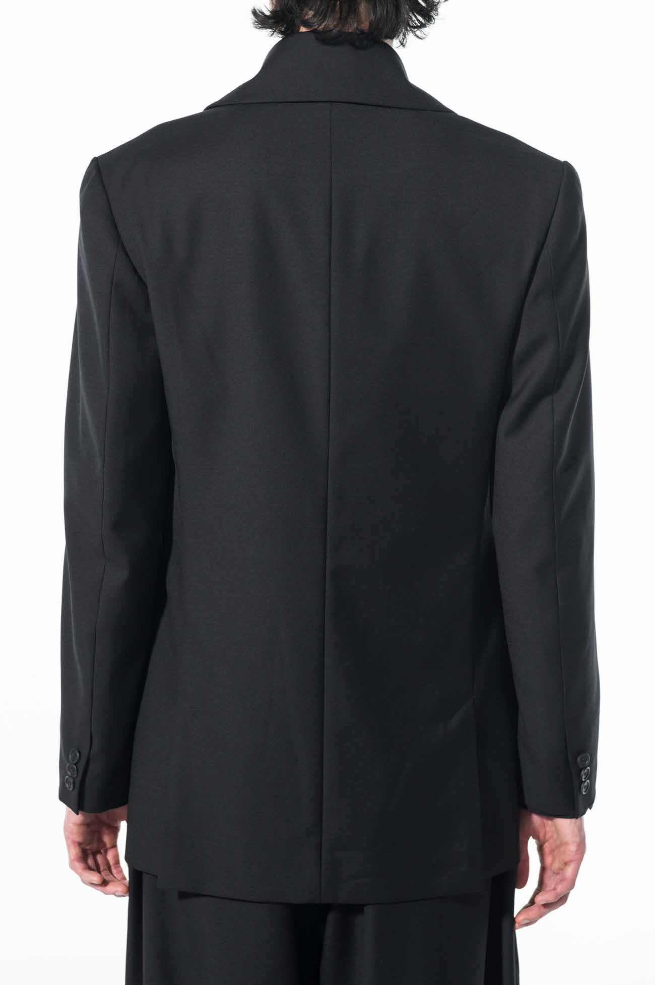 T/W Gabardine Washable Shawl Collar 6BW Jacket