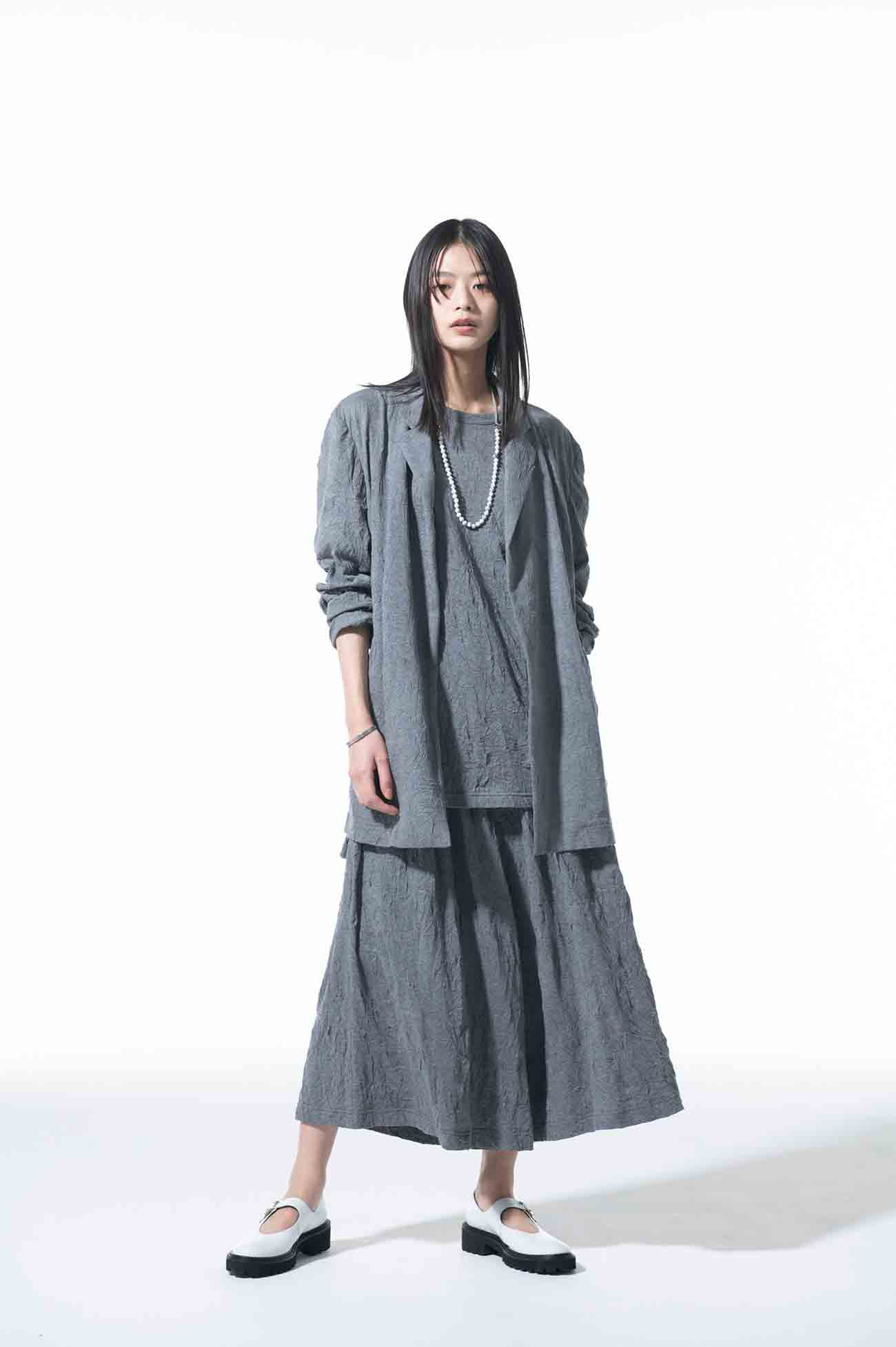 30/-T/C Jersey Catch Washer Culotte Pants