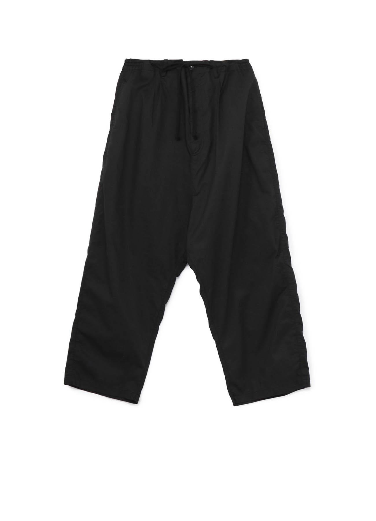 Cotton Twill One-tuck Extra Wide Sarouel Pants